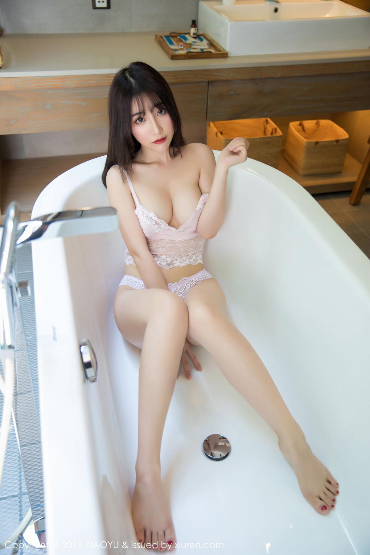[XiaoYu] Vol.147 Xie Zhi Xin 43P, Bathroom, Big Booty, Wet, XiaoYu, Xie Zhi Xin