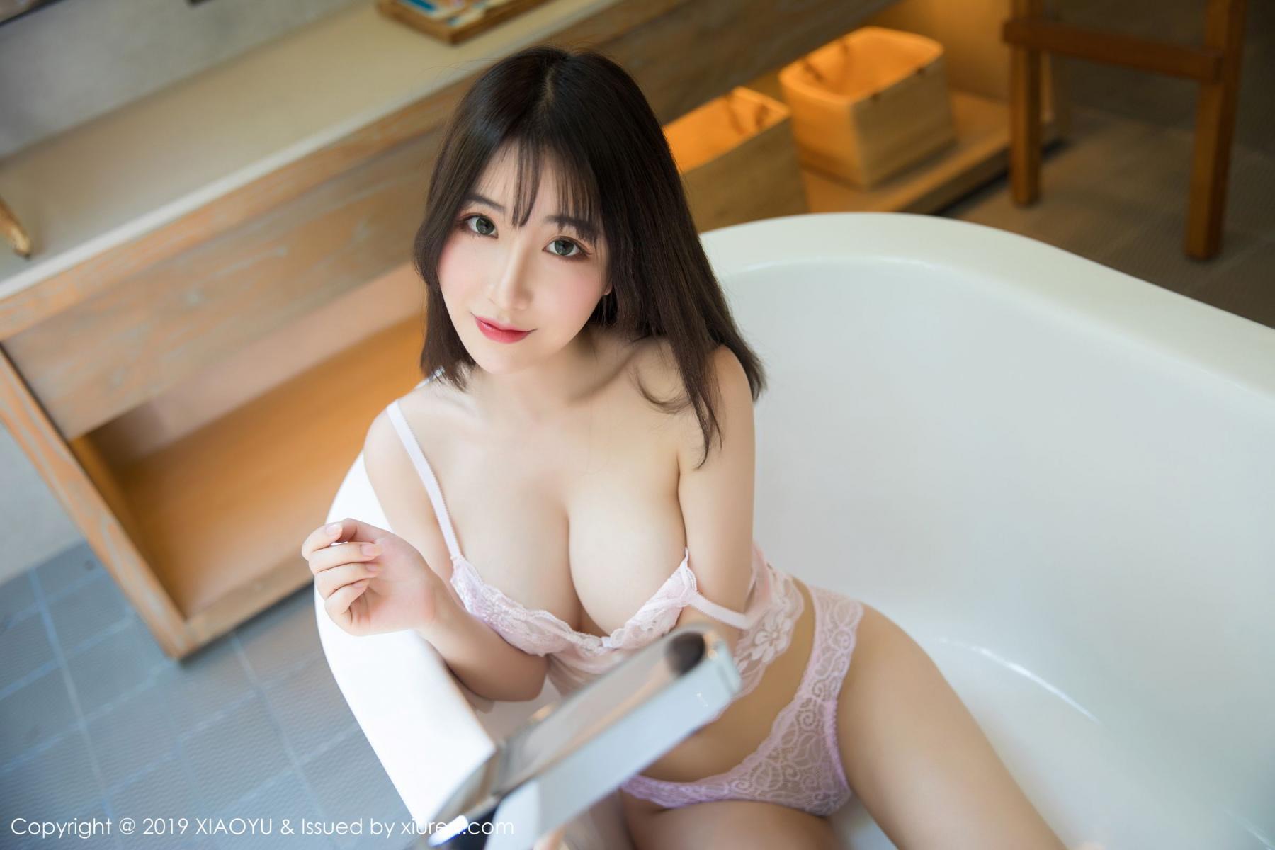[XiaoYu] Vol.147 Xie Zhi Xin 44P, Bathroom, Big Booty, Wet, XiaoYu, Xie Zhi Xin