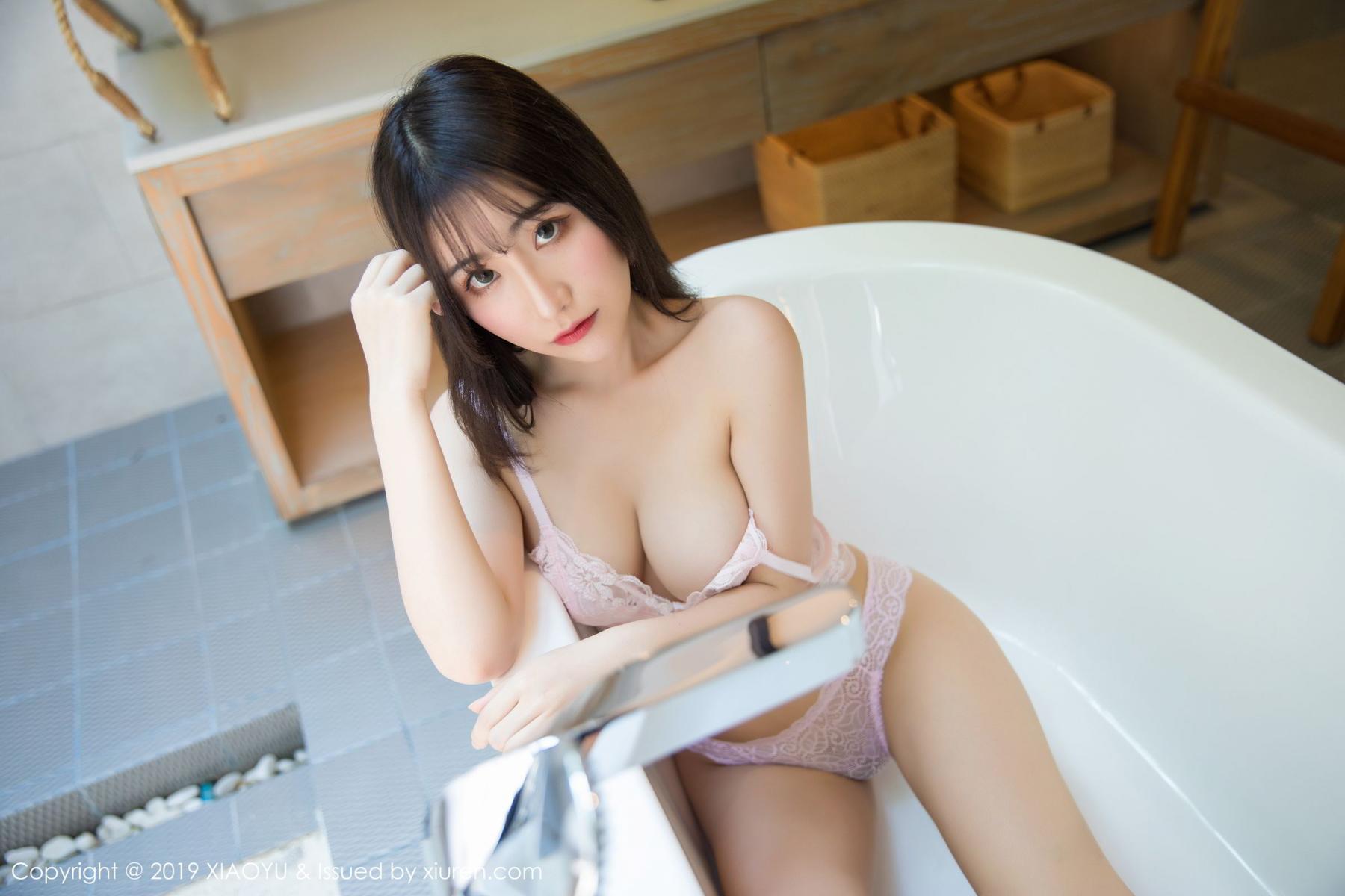 [XiaoYu] Vol.147 Xie Zhi Xin 45P, Bathroom, Big Booty, Wet, XiaoYu, Xie Zhi Xin