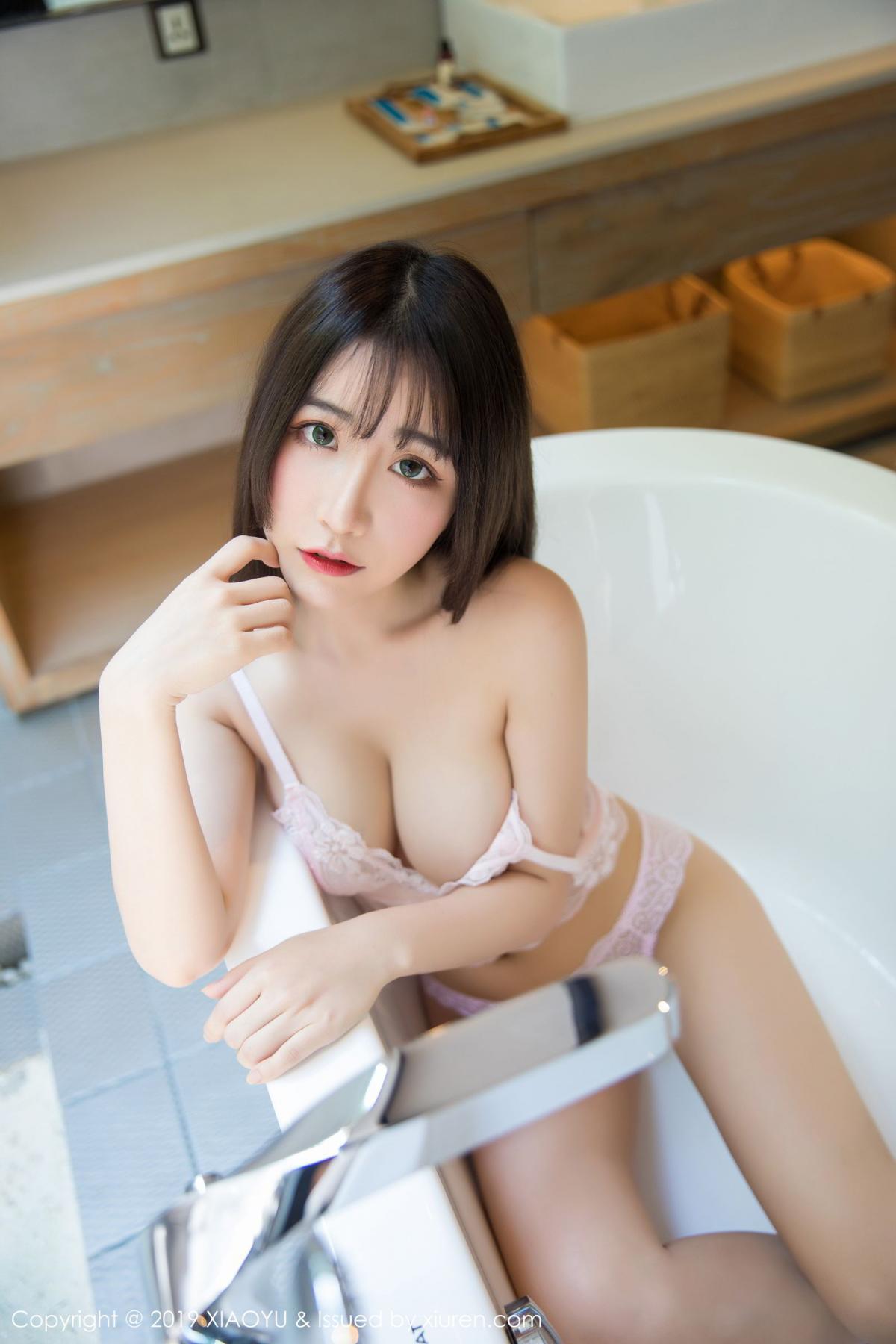 [XiaoYu] Vol.147 Xie Zhi Xin 46P, Bathroom, Big Booty, Wet, XiaoYu, Xie Zhi Xin