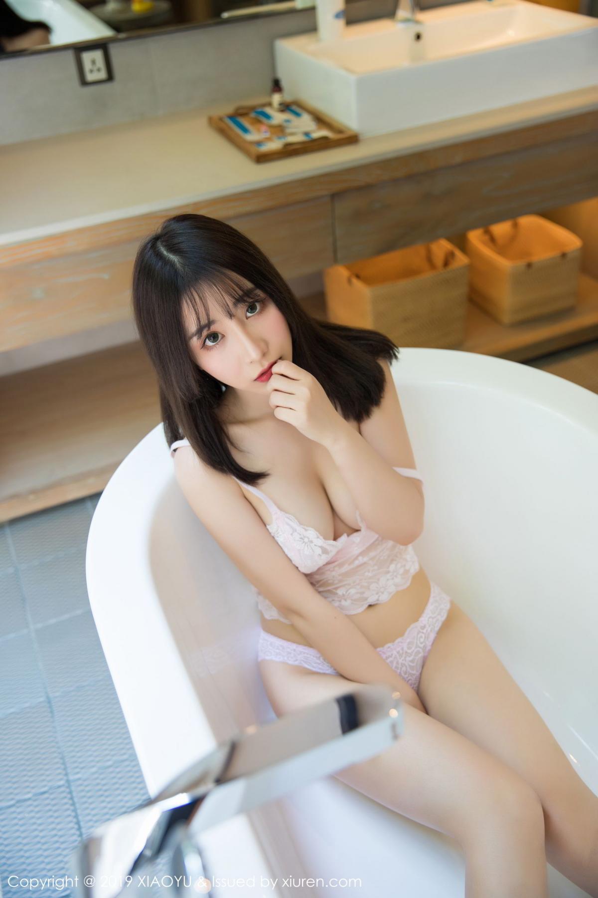[XiaoYu] Vol.147 Xie Zhi Xin 47P, Bathroom, Big Booty, Wet, XiaoYu, Xie Zhi Xin
