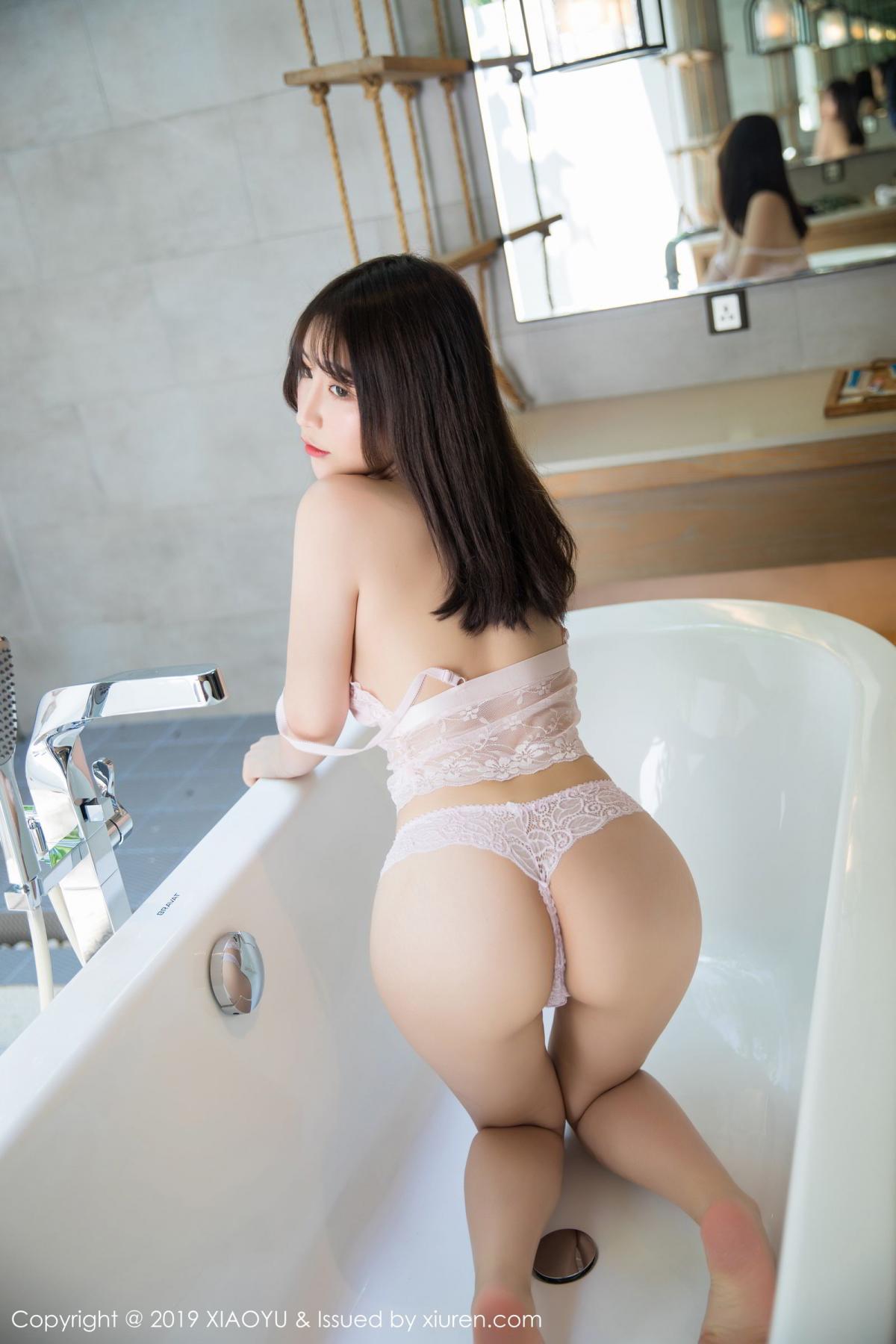 [XiaoYu] Vol.147 Xie Zhi Xin 49P, Bathroom, Big Booty, Wet, XiaoYu, Xie Zhi Xin