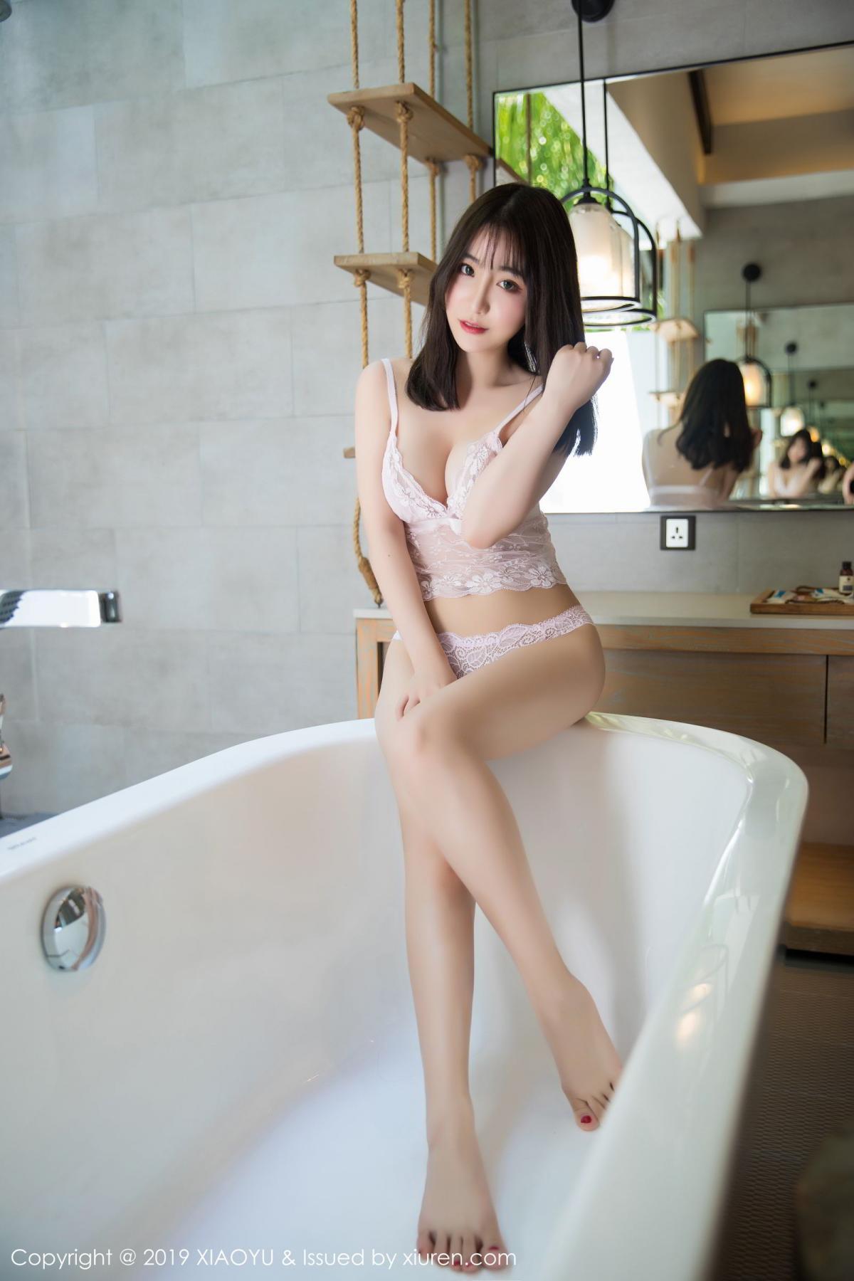 [XiaoYu] Vol.147 Xie Zhi Xin 51P, Bathroom, Big Booty, Wet, XiaoYu, Xie Zhi Xin