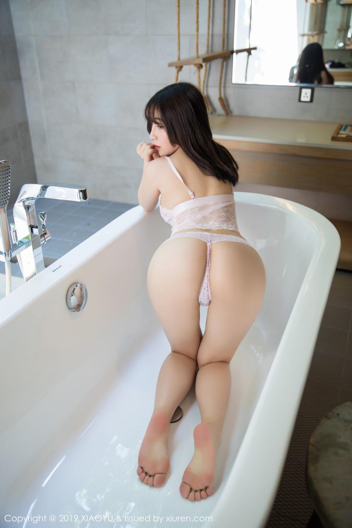 [XiaoYu] Vol.147 Xie Zhi Xin 52P, Bathroom, Big Booty, Wet, XiaoYu, Xie Zhi Xin