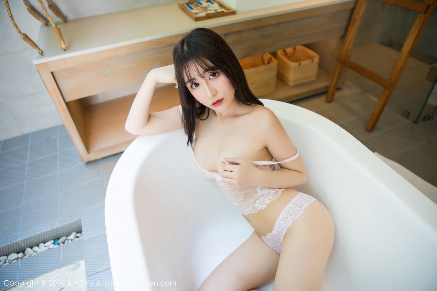 [XiaoYu] Vol.147 Xie Zhi Xin 53P, Bathroom, Big Booty, Wet, XiaoYu, Xie Zhi Xin