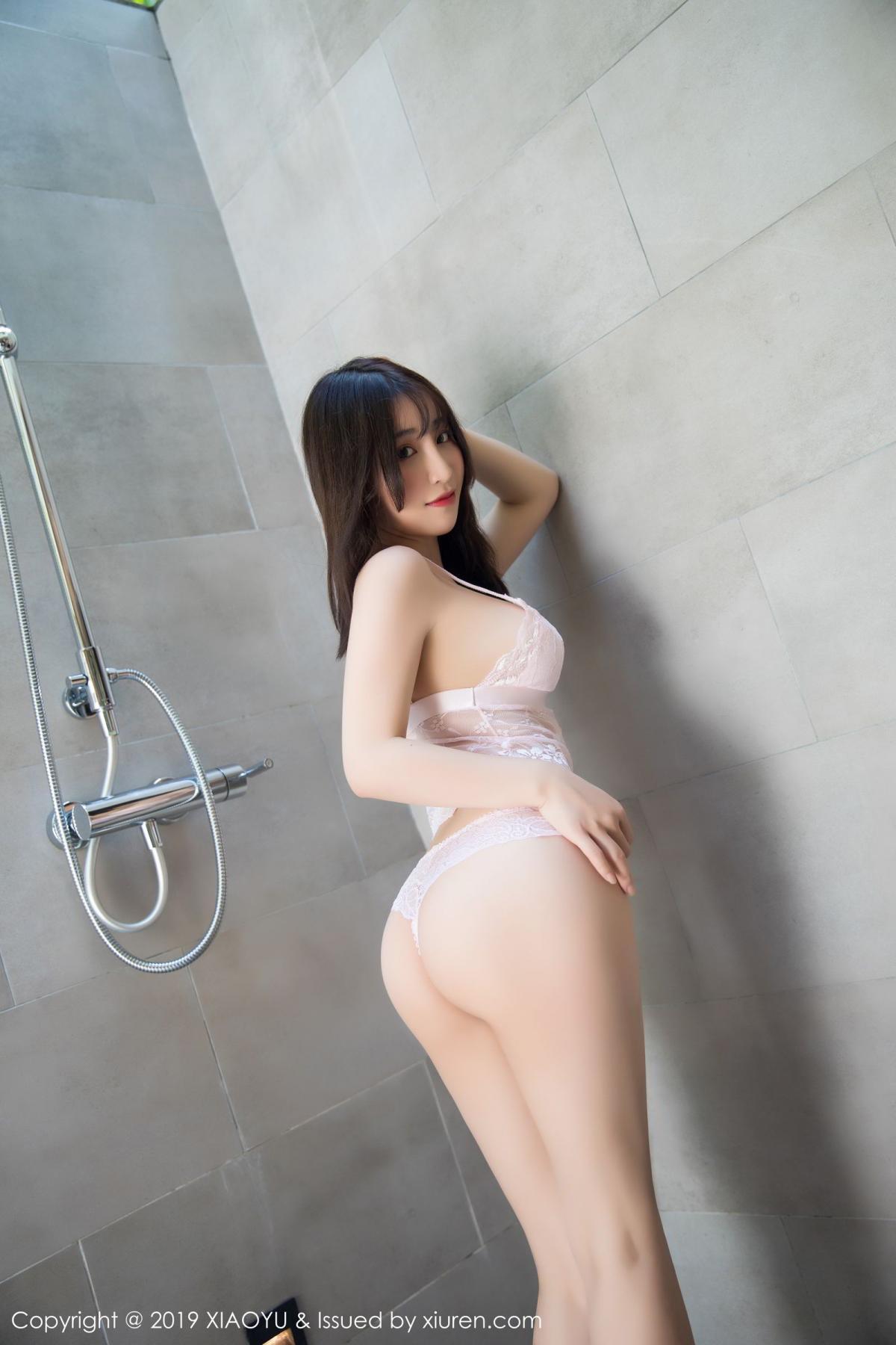 [XiaoYu] Vol.147 Xie Zhi Xin 54P, Bathroom, Big Booty, Wet, XiaoYu, Xie Zhi Xin