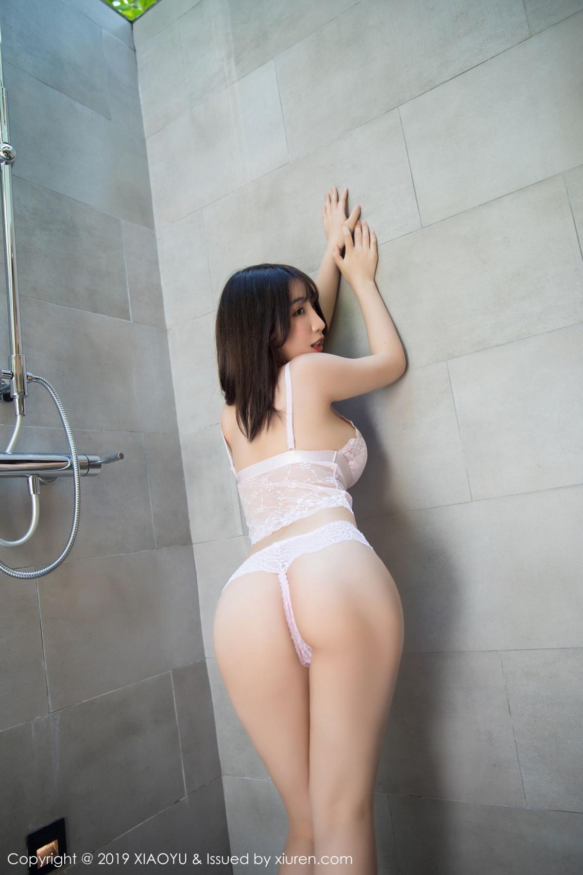 [XiaoYu] Vol.147 Xie Zhi Xin 57P, Bathroom, Big Booty, Wet, XiaoYu, Xie Zhi Xin