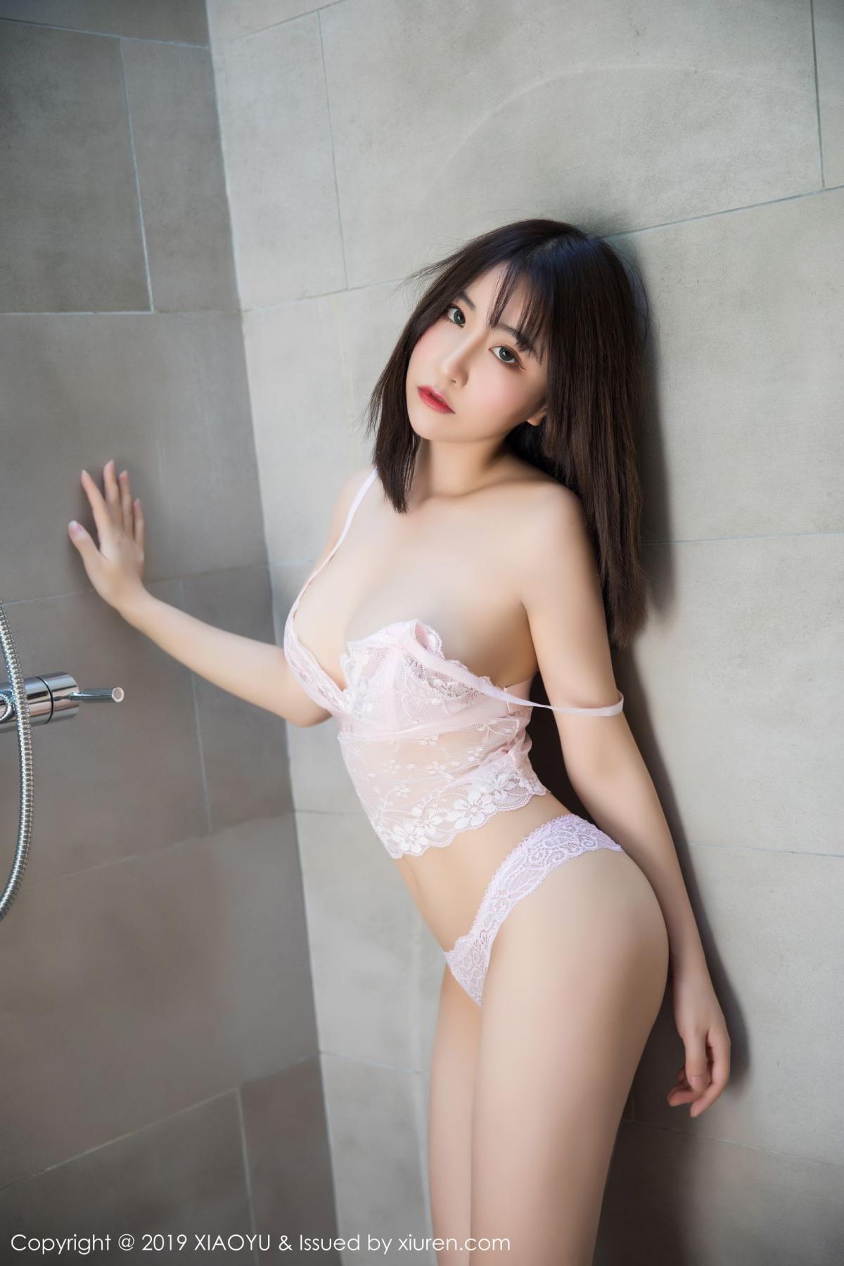 [XiaoYu] Vol.147 Xie Zhi Xin 59P, Bathroom, Big Booty, Wet, XiaoYu, Xie Zhi Xin