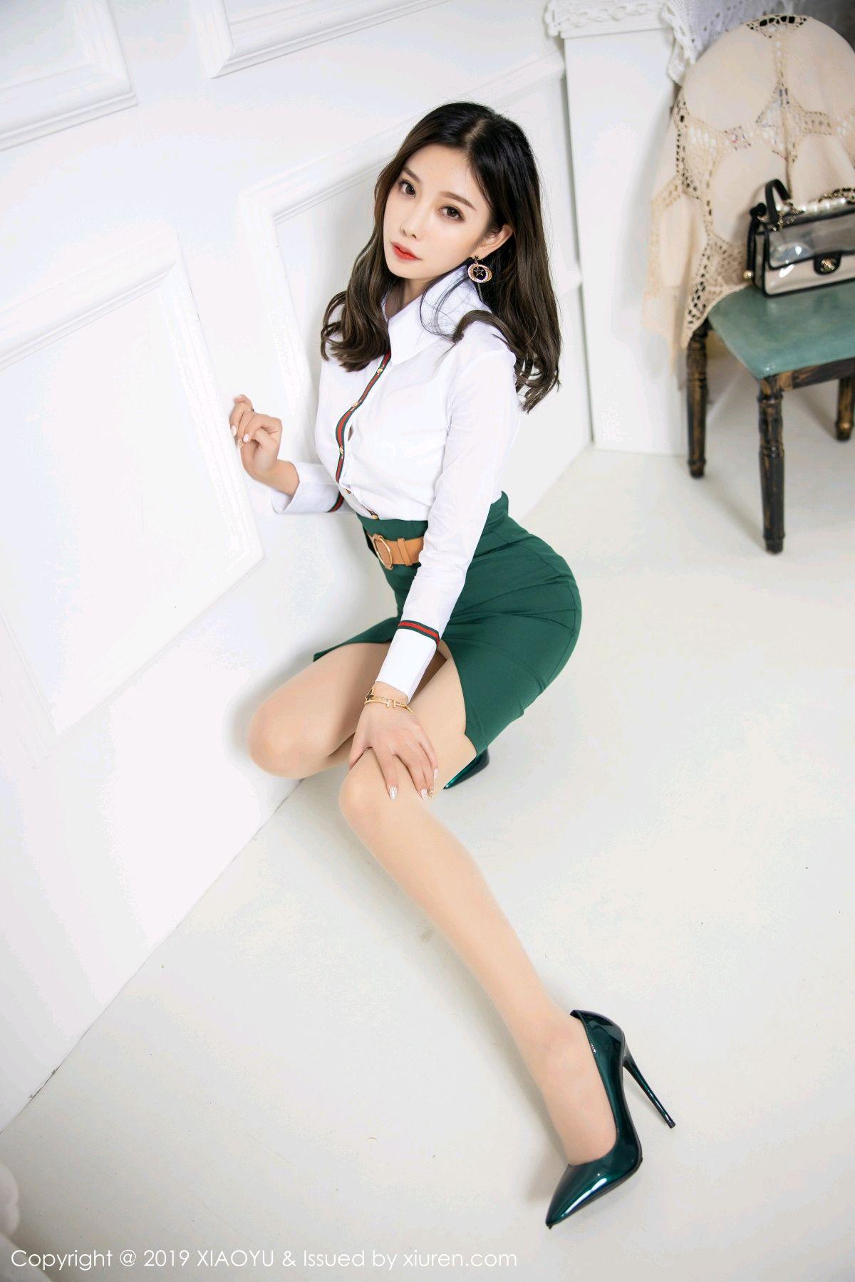 [XiaoYu] Vol.148 Yang Chen Chen 16P, Black Silk, XiaoYu, Yang Chen Chen