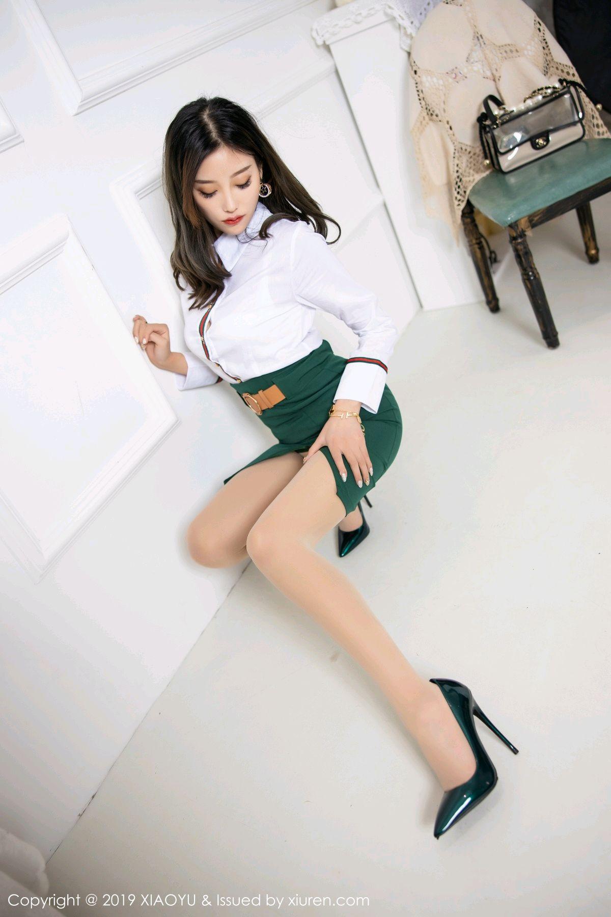 [XiaoYu] Vol.148 Yang Chen Chen 17P, Black Silk, XiaoYu, Yang Chen Chen