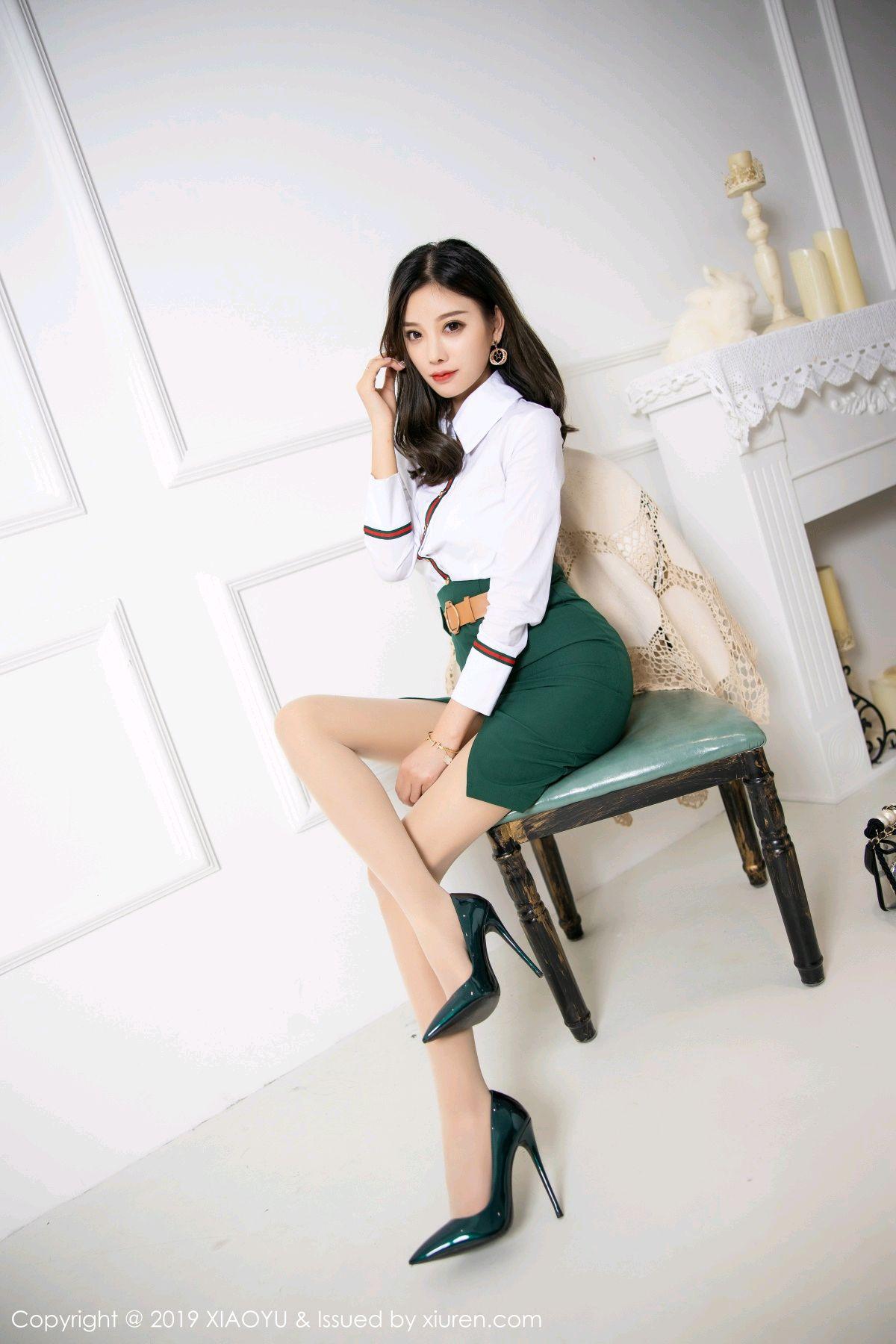 [XiaoYu] Vol.148 Yang Chen Chen 19P, Black Silk, XiaoYu, Yang Chen Chen
