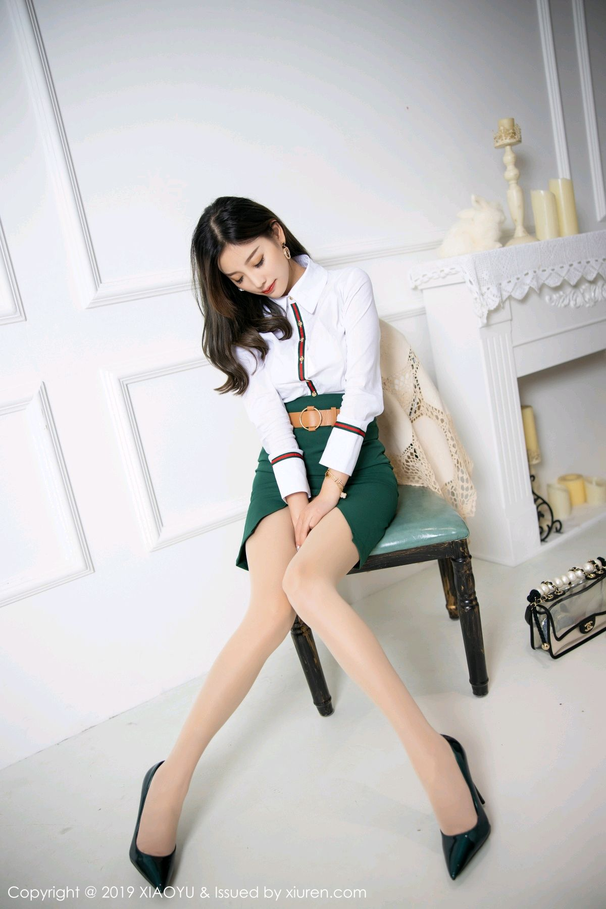 [XiaoYu] Vol.148 Yang Chen Chen 20P, Black Silk, XiaoYu, Yang Chen Chen