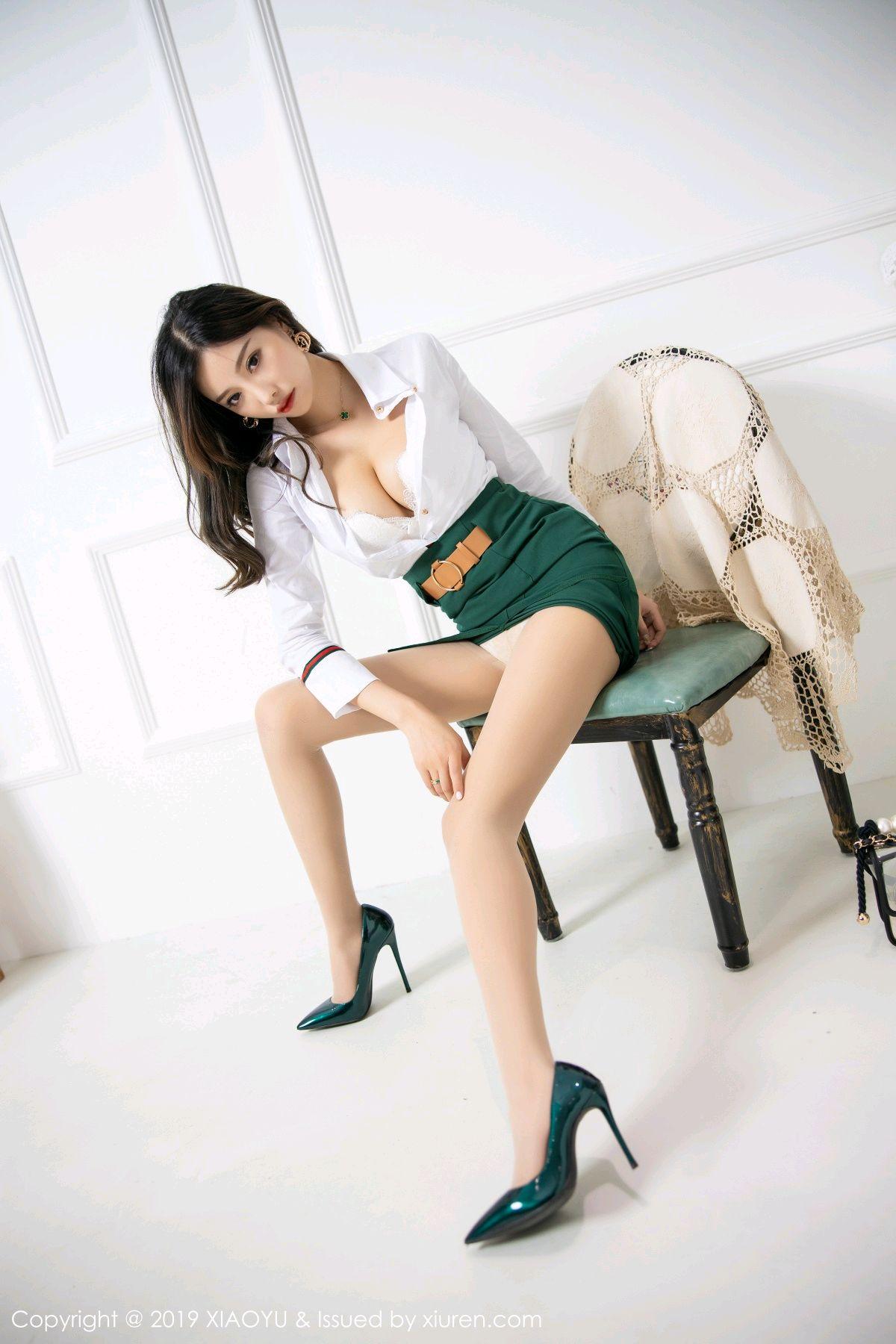 [XiaoYu] Vol.148 Yang Chen Chen 34P, Black Silk, XiaoYu, Yang Chen Chen
