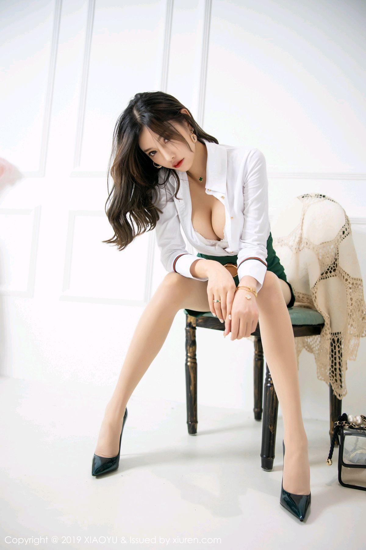 [XiaoYu] Vol.148 Yang Chen Chen 36P, Black Silk, XiaoYu, Yang Chen Chen