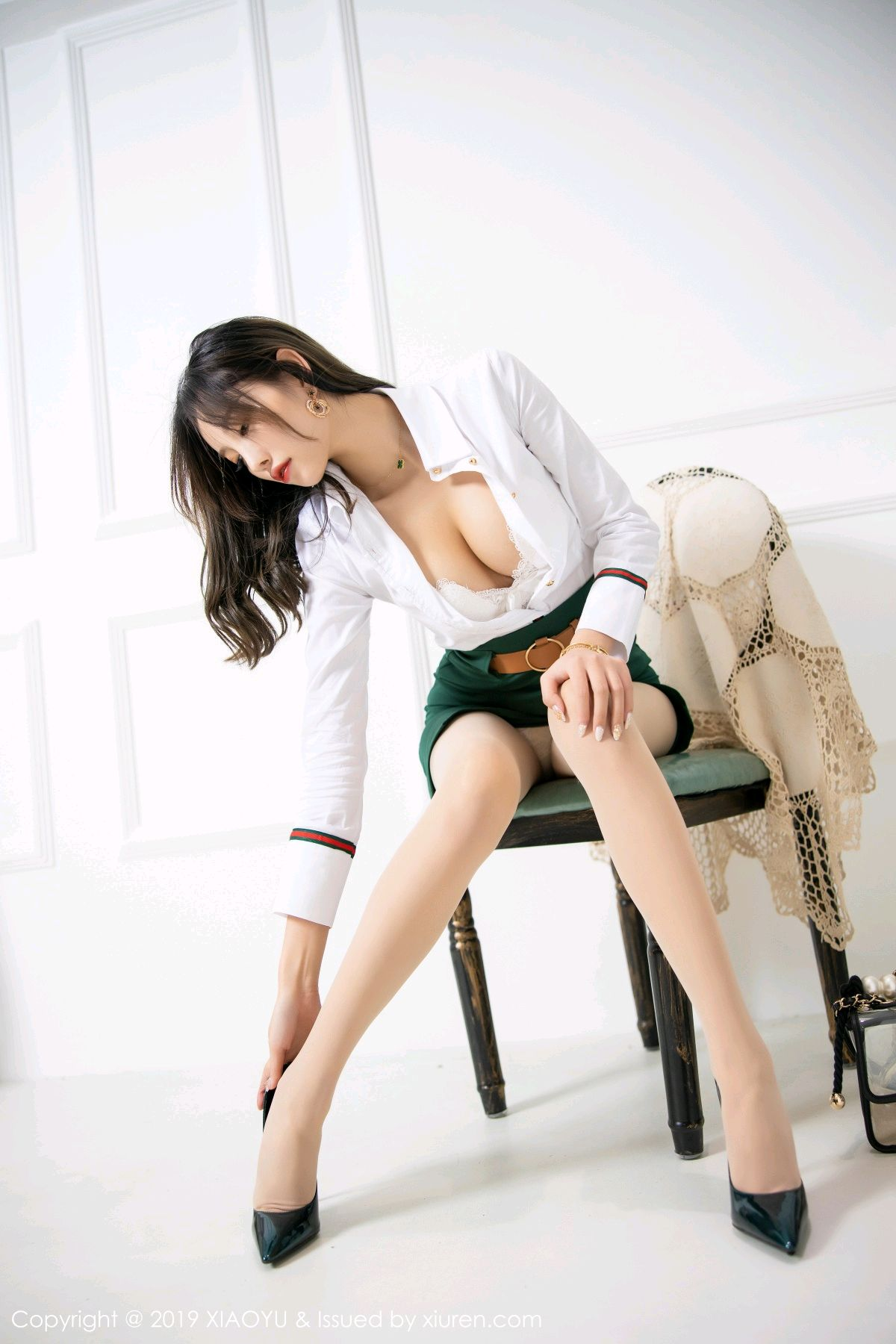 [XiaoYu] Vol.148 Yang Chen Chen 37P, Black Silk, XiaoYu, Yang Chen Chen