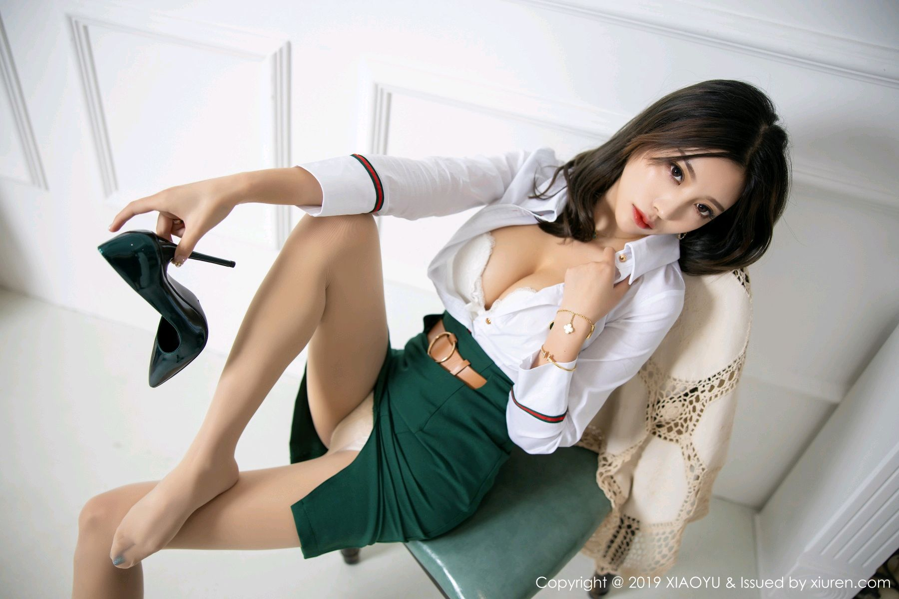 [XiaoYu] Vol.148 Yang Chen Chen 38P, Black Silk, XiaoYu, Yang Chen Chen