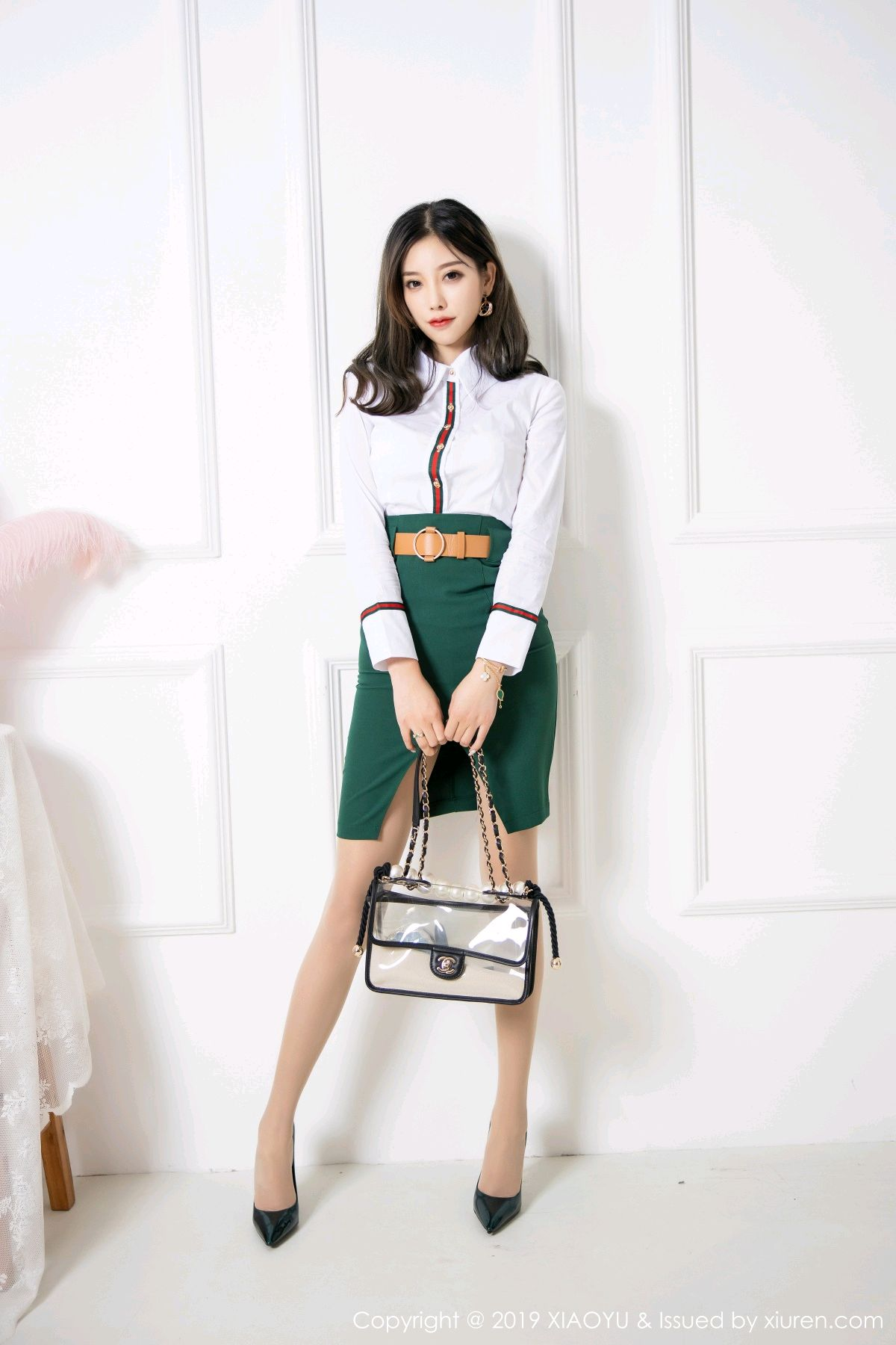 [XiaoYu] Vol.148 Yang Chen Chen 3P, Black Silk, XiaoYu, Yang Chen Chen