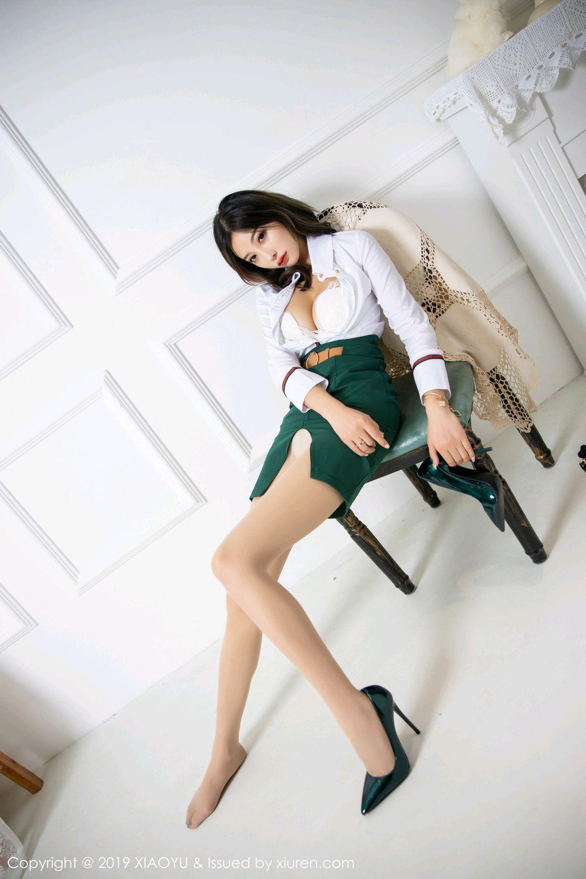 [XiaoYu] Vol.148 Yang Chen Chen 40P, Black Silk, XiaoYu, Yang Chen Chen