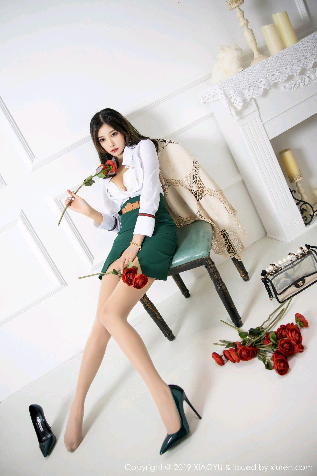 [XiaoYu] Vol.148 Yang Chen Chen 43P, Black Silk, XiaoYu, Yang Chen Chen