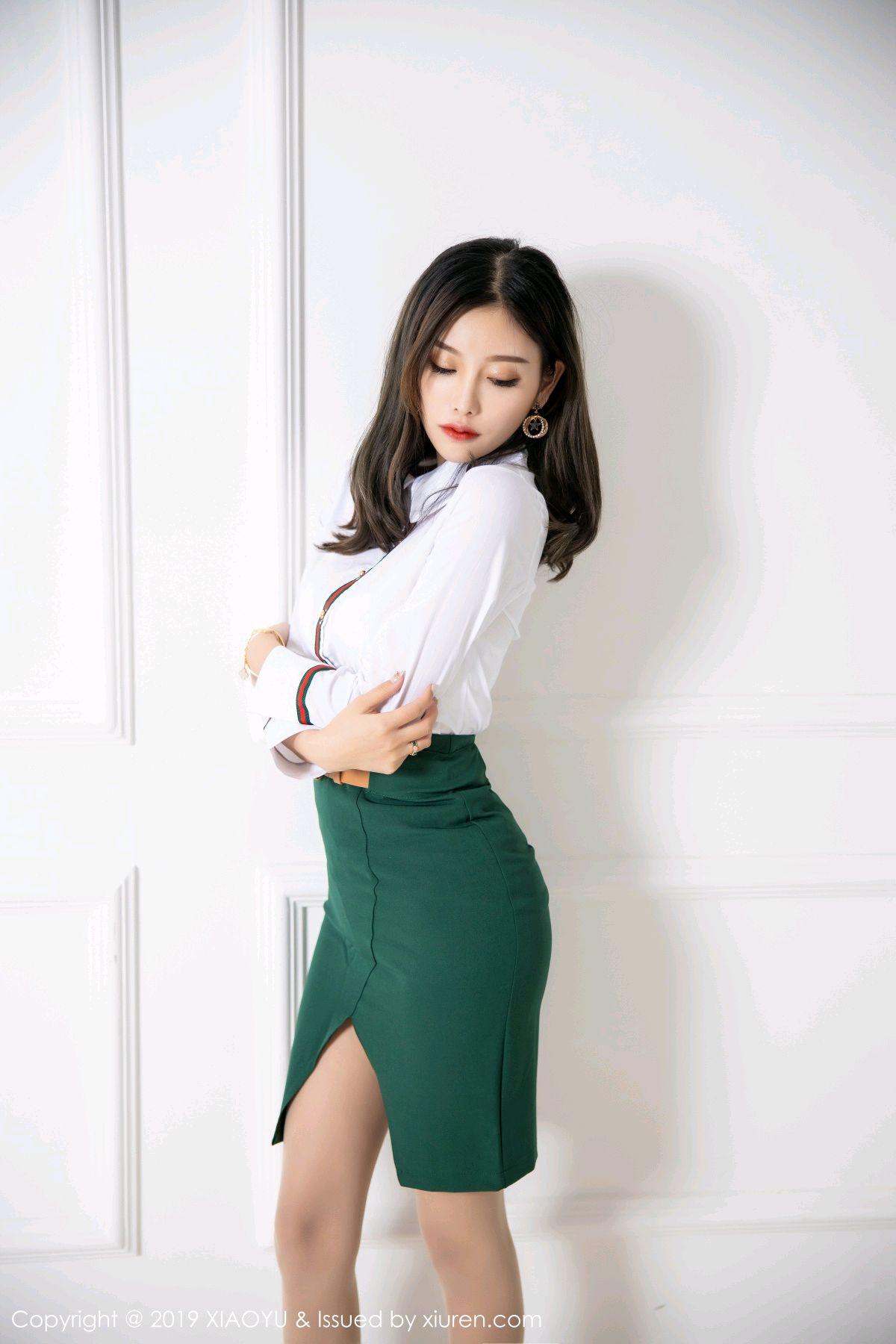 [XiaoYu] Vol.148 Yang Chen Chen 6P, Black Silk, XiaoYu, Yang Chen Chen