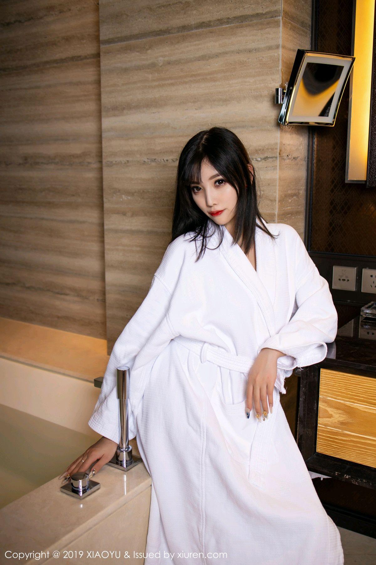 [XiaoYu] Vol.153 Yang Chen Chen 2P, Bathroom, Black Silk, Underwear, XiaoYu, Yang Chen Chen