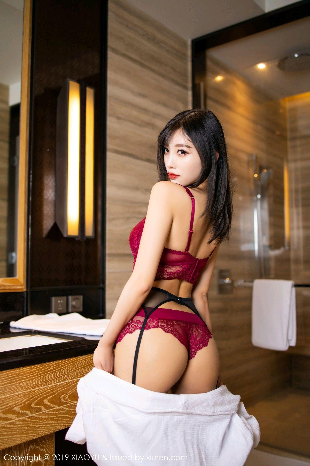 [XiaoYu] Vol.153 Yang Chen Chen 30P, Bathroom, Black Silk, Underwear, XiaoYu, Yang Chen Chen