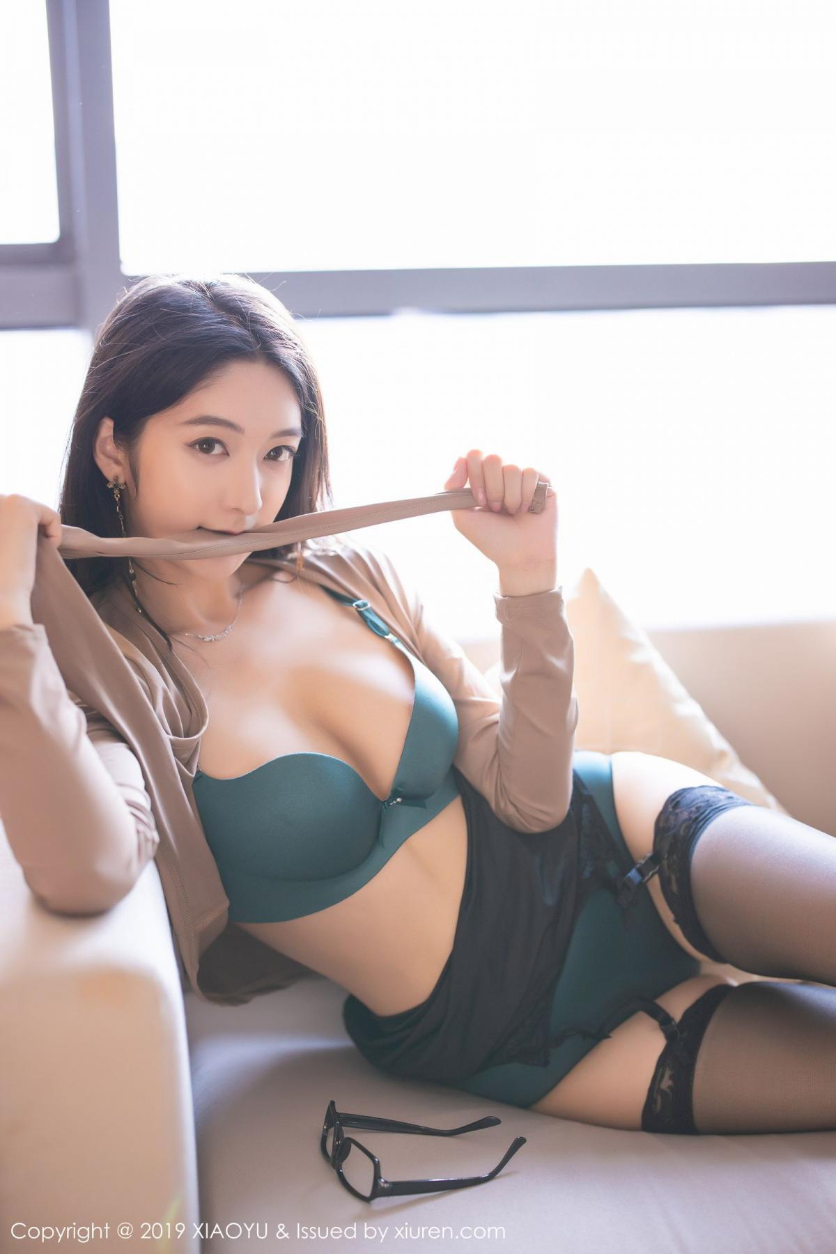[XiaoYu] Vol.154 Di Yi 63P, Black Silk, Di Yi, Underwear, XiaoYu
