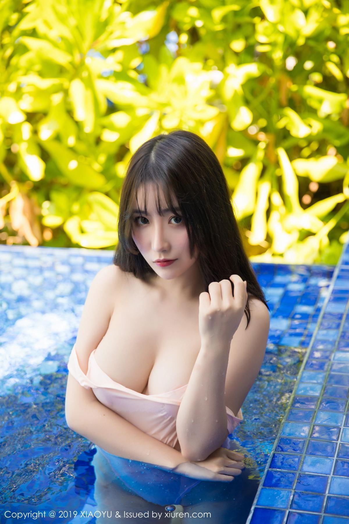 [XiaoYu] Vol.155 Xie Zhi Xin 39P, Bathroom, Big Booty, Wet, XiaoYu, Xie Zhi Xin