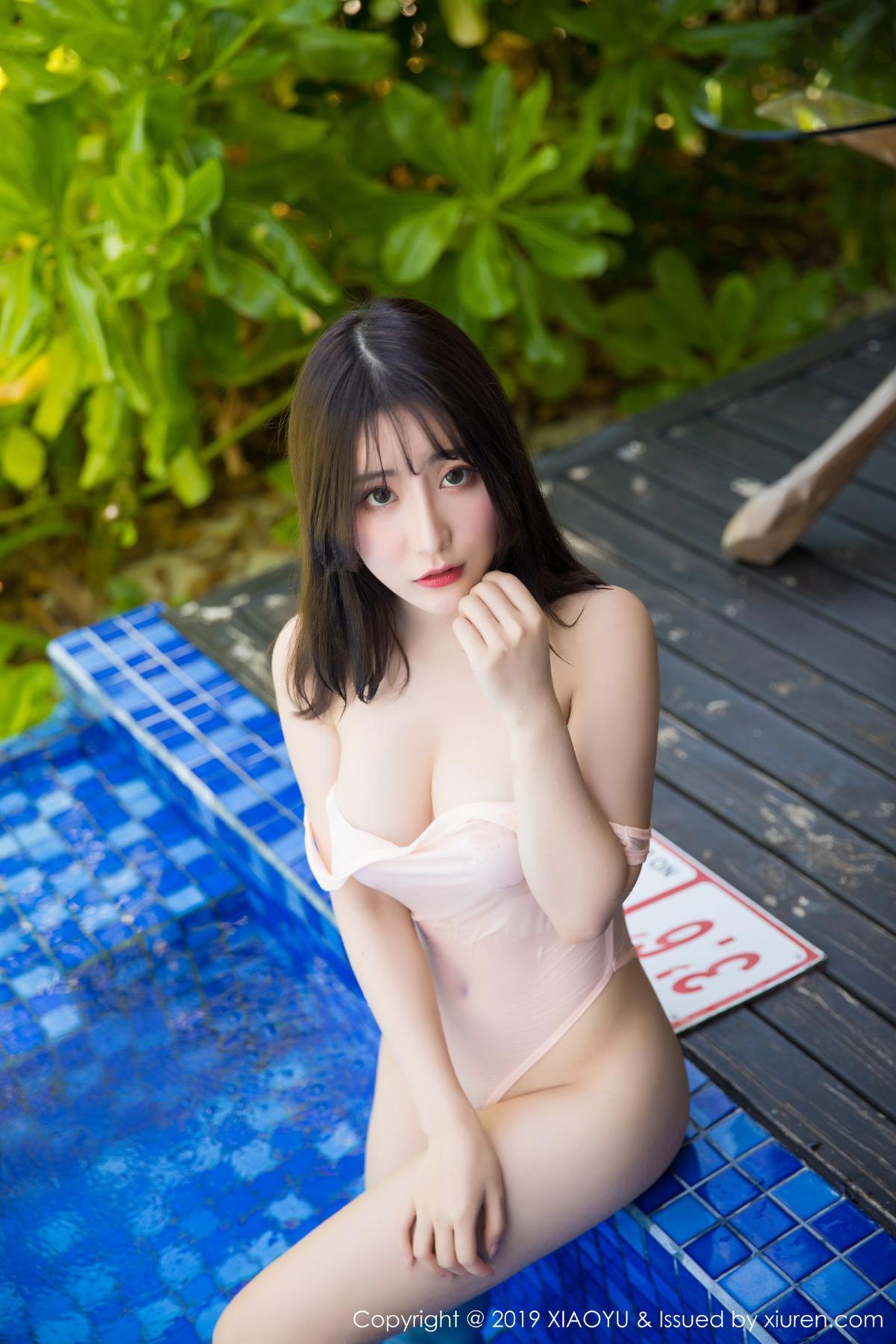 [XiaoYu] Vol.155 Xie Zhi Xin 41P, Bathroom, Big Booty, Wet, XiaoYu, Xie Zhi Xin
