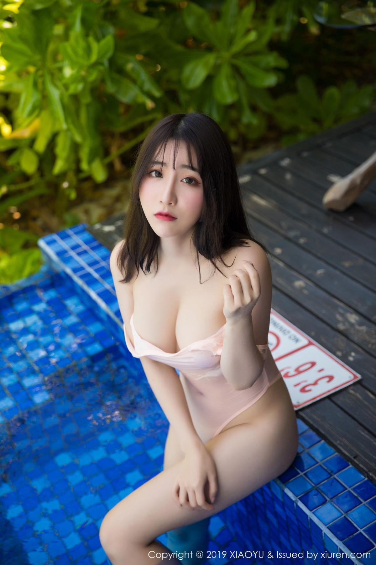 [XiaoYu] Vol.155 Xie Zhi Xin 42P, Bathroom, Big Booty, Wet, XiaoYu, Xie Zhi Xin