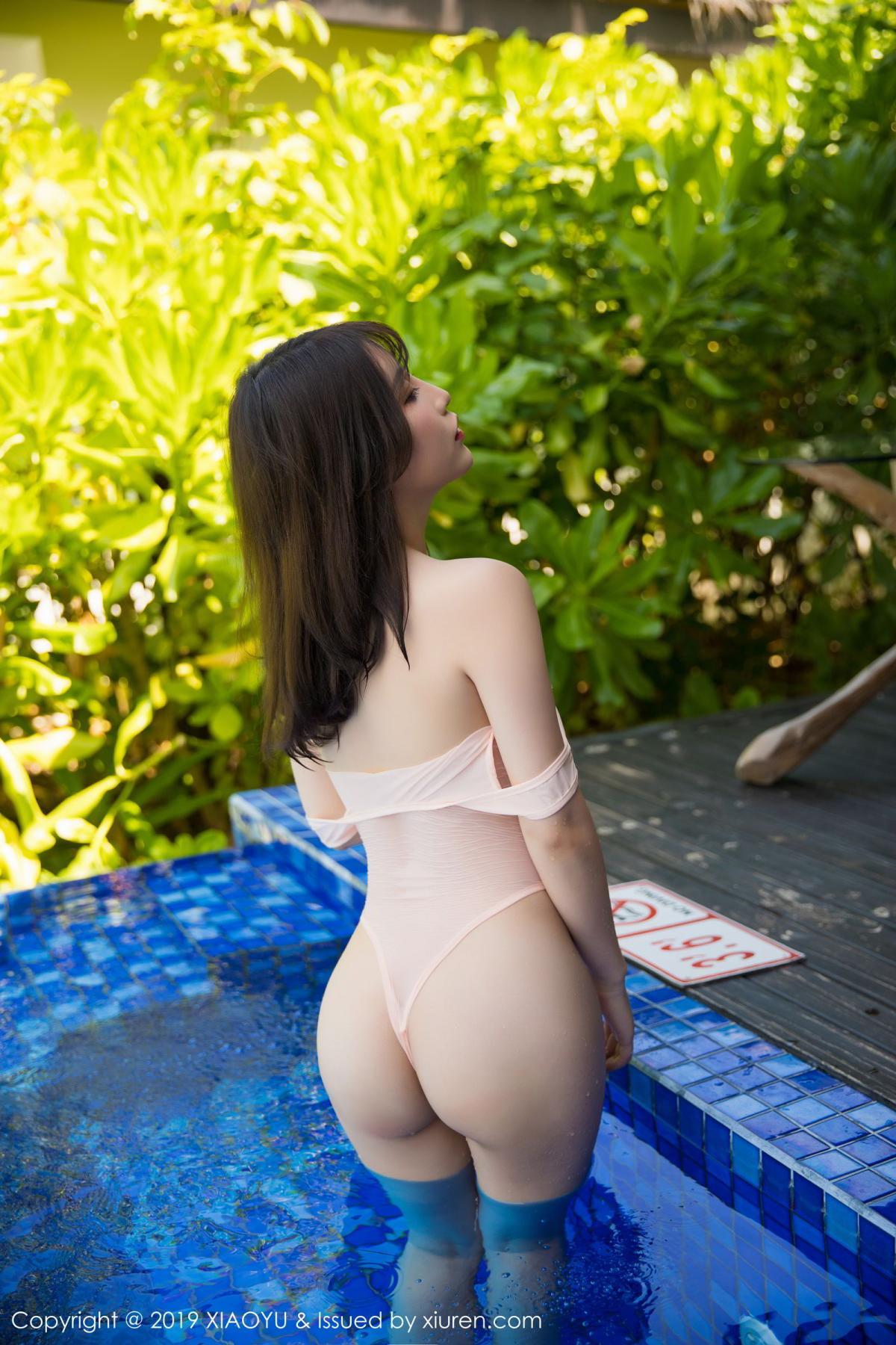 [XiaoYu] Vol.155 Xie Zhi Xin 43P, Bathroom, Big Booty, Wet, XiaoYu, Xie Zhi Xin