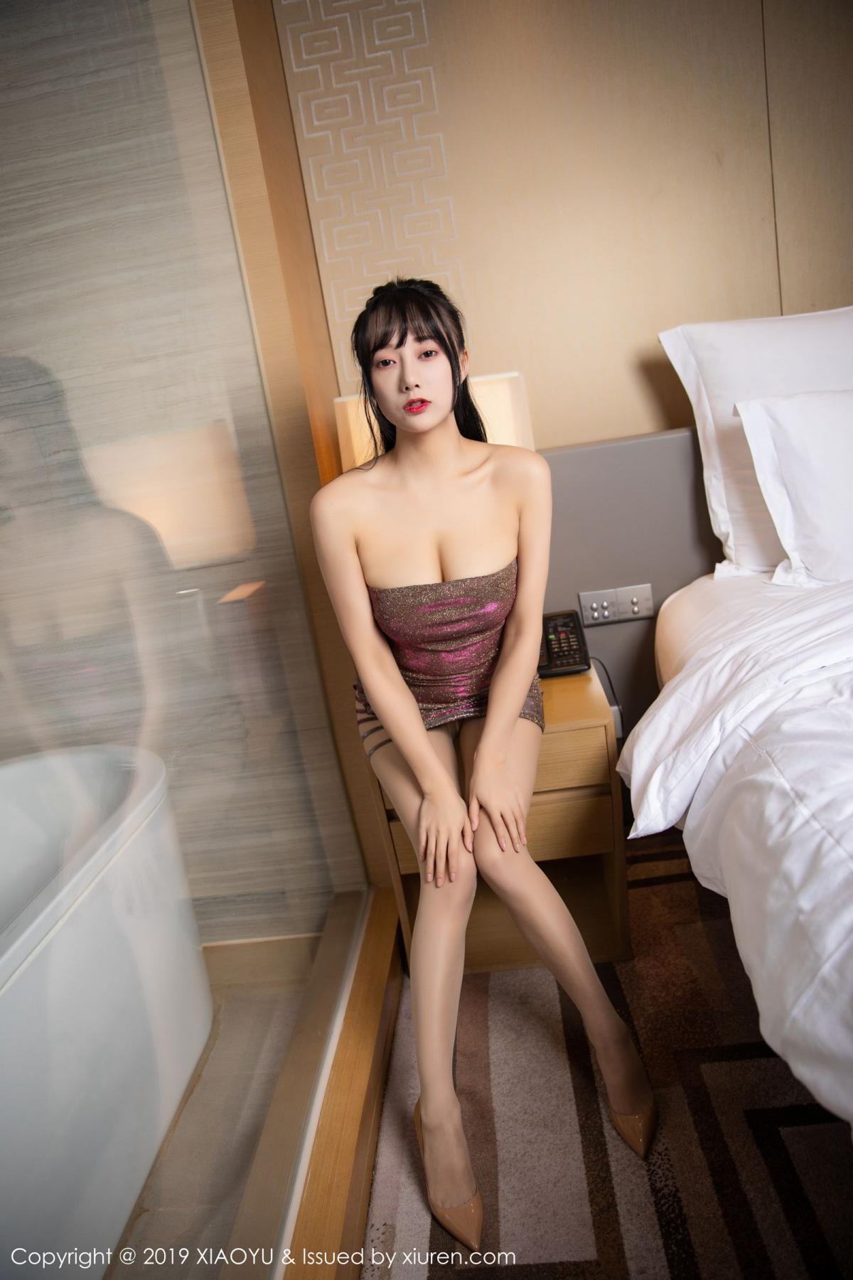 [XiaoYu] Vol.159 He Jia Ying 12P, He Jia Ying, Tall, XiaoYu