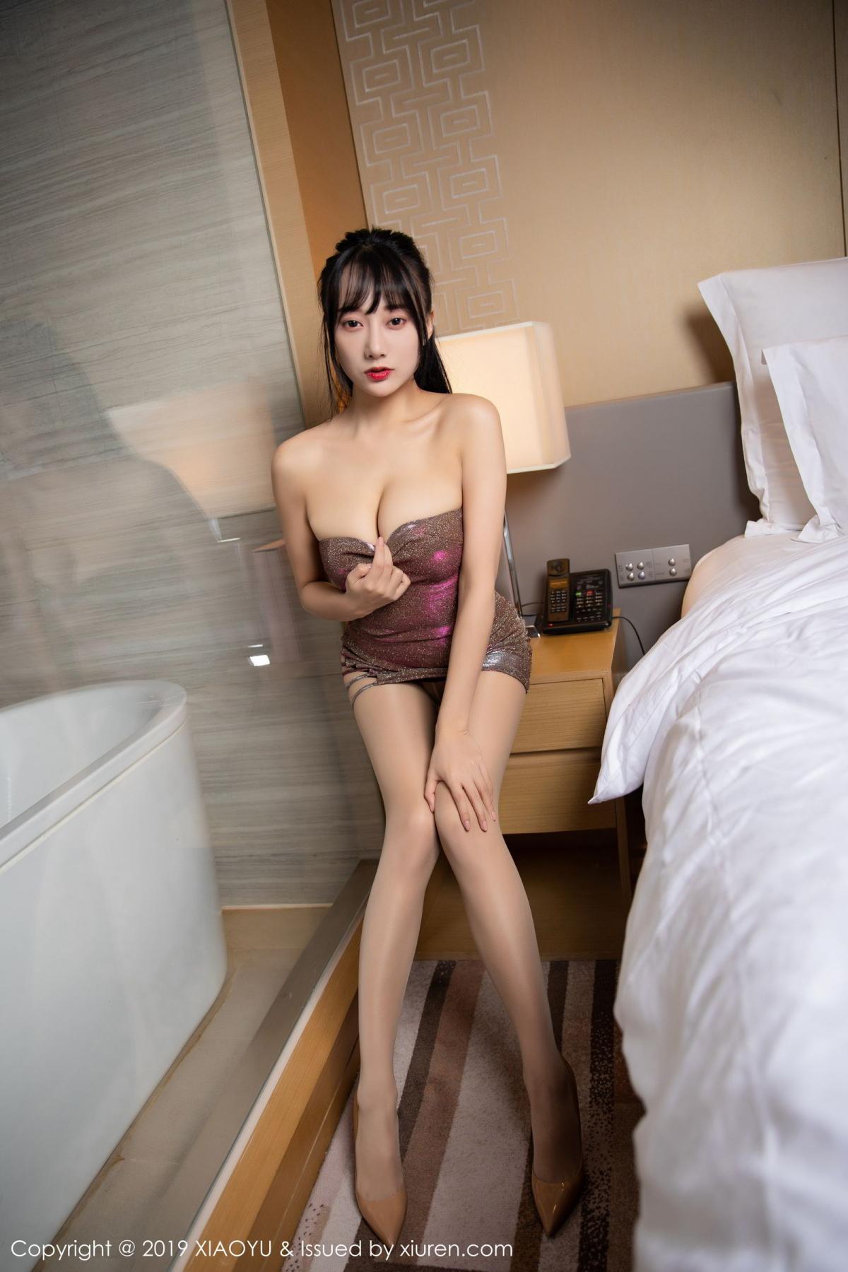 [XiaoYu] Vol.159 He Jia Ying 17P, He Jia Ying, Tall, XiaoYu