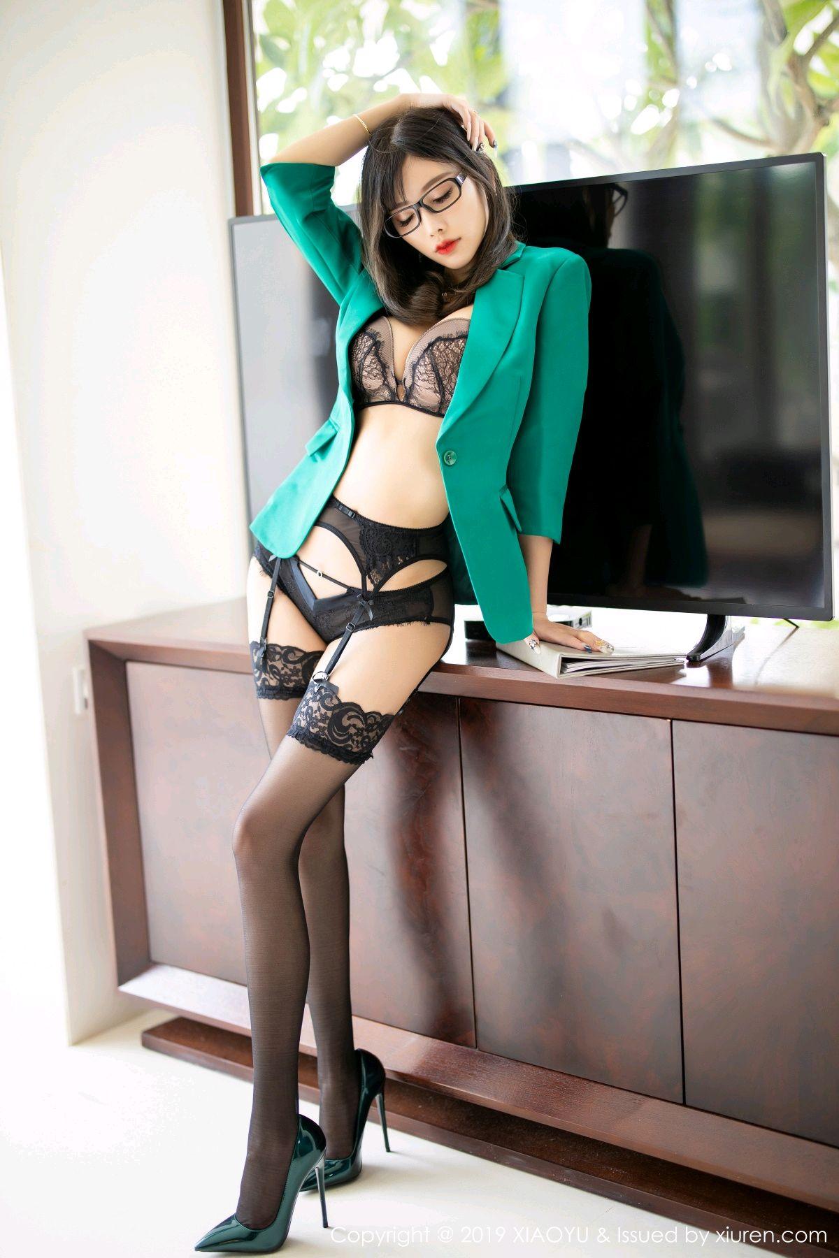[XiaoYu] Vol.164 Yang Chen Chen 33P, Black Silk, Tall, XiaoYu, Yang Chen Chen