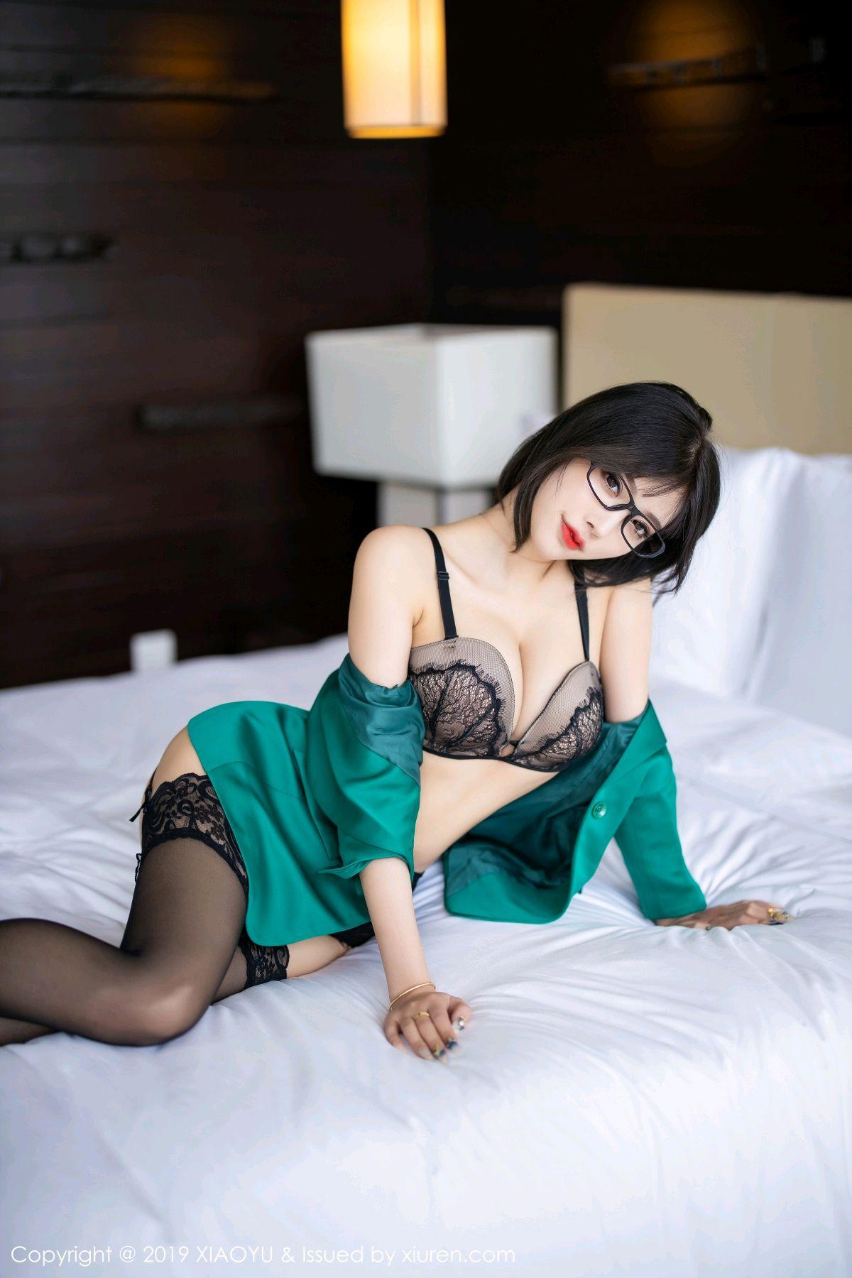 [XiaoYu] Vol.164 Yang Chen Chen 65P, Black Silk, Tall, XiaoYu, Yang Chen Chen