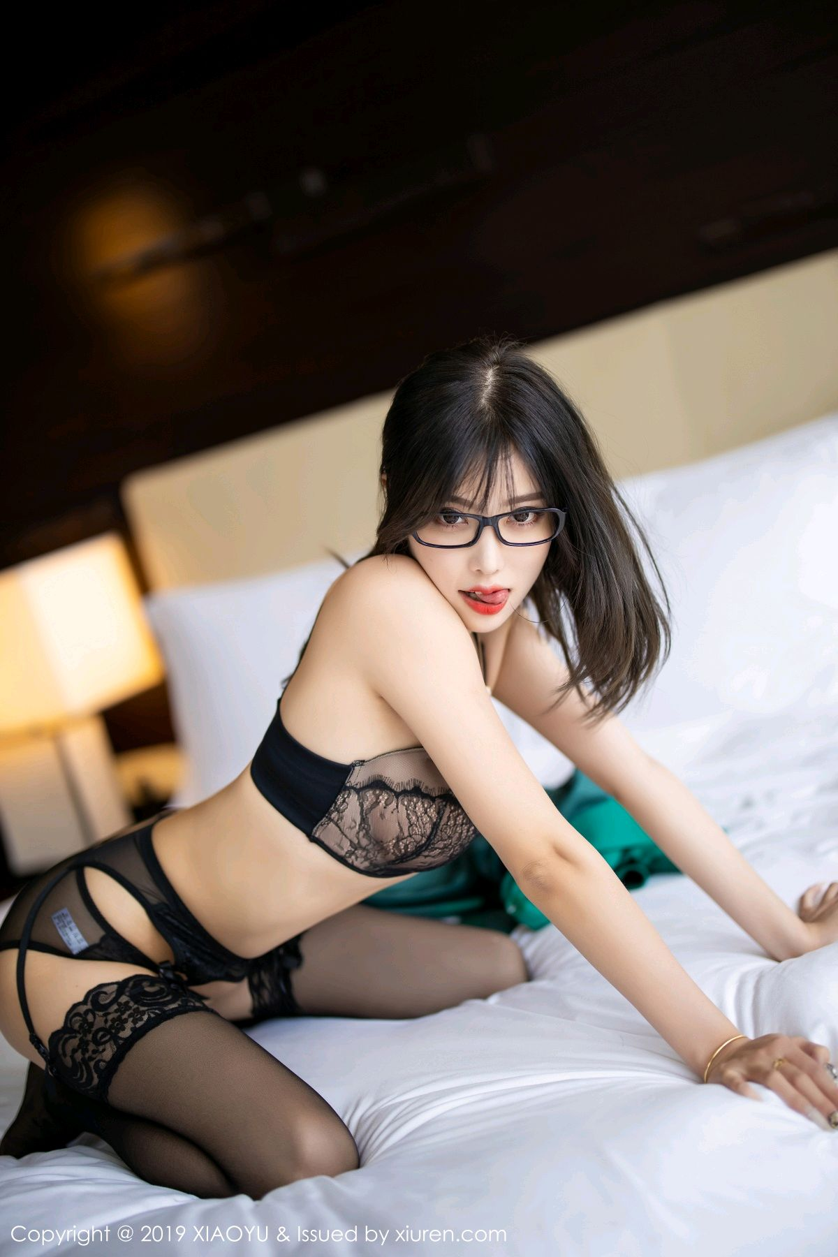 [XiaoYu] Vol.164 Yang Chen Chen 86P, Black Silk, Tall, XiaoYu, Yang Chen Chen