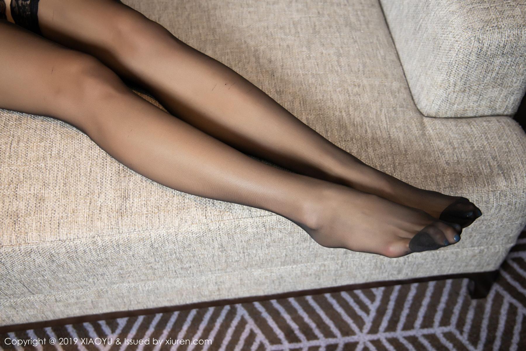 [XiaoYu] Vol.165 Feng Xi Wen 48P, Black Silk, Feng Xi Wen, Tall, Underwear, XiaoYu