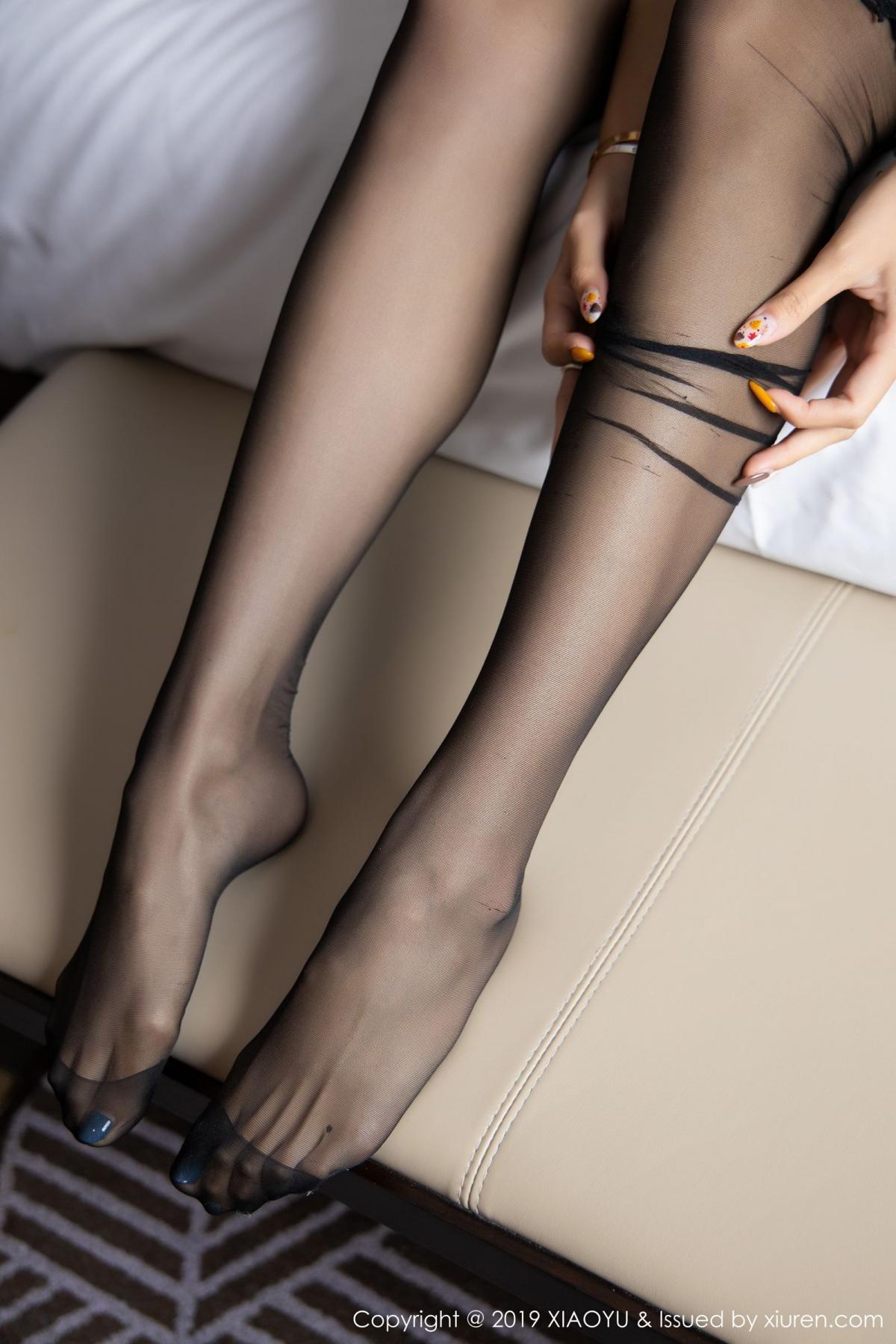 [XiaoYu] Vol.165 Feng Xi Wen 58P, Black Silk, Feng Xi Wen, Tall, Underwear, XiaoYu