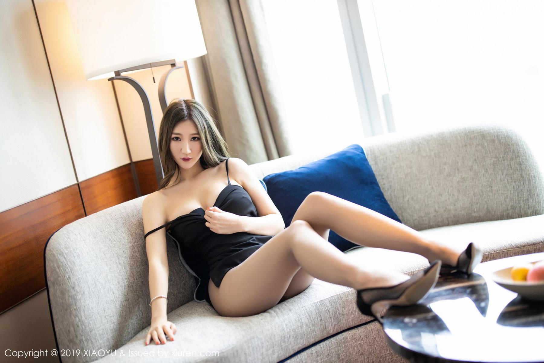[XiaoYu] Vol.171 Xuan Zi 12P, Black Silk, Tall, XiaoYu, Xuan Zi