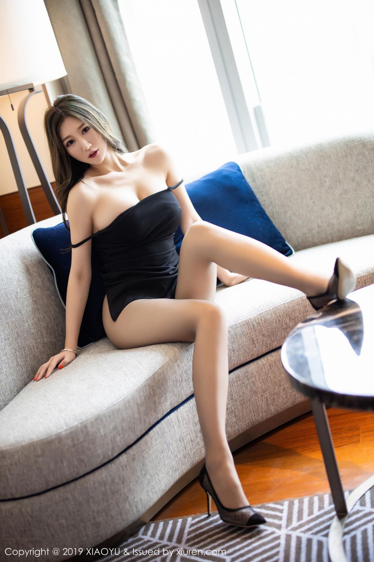 [XiaoYu] Vol.171 Xuan Zi 14P, Black Silk, Tall, XiaoYu, Xuan Zi