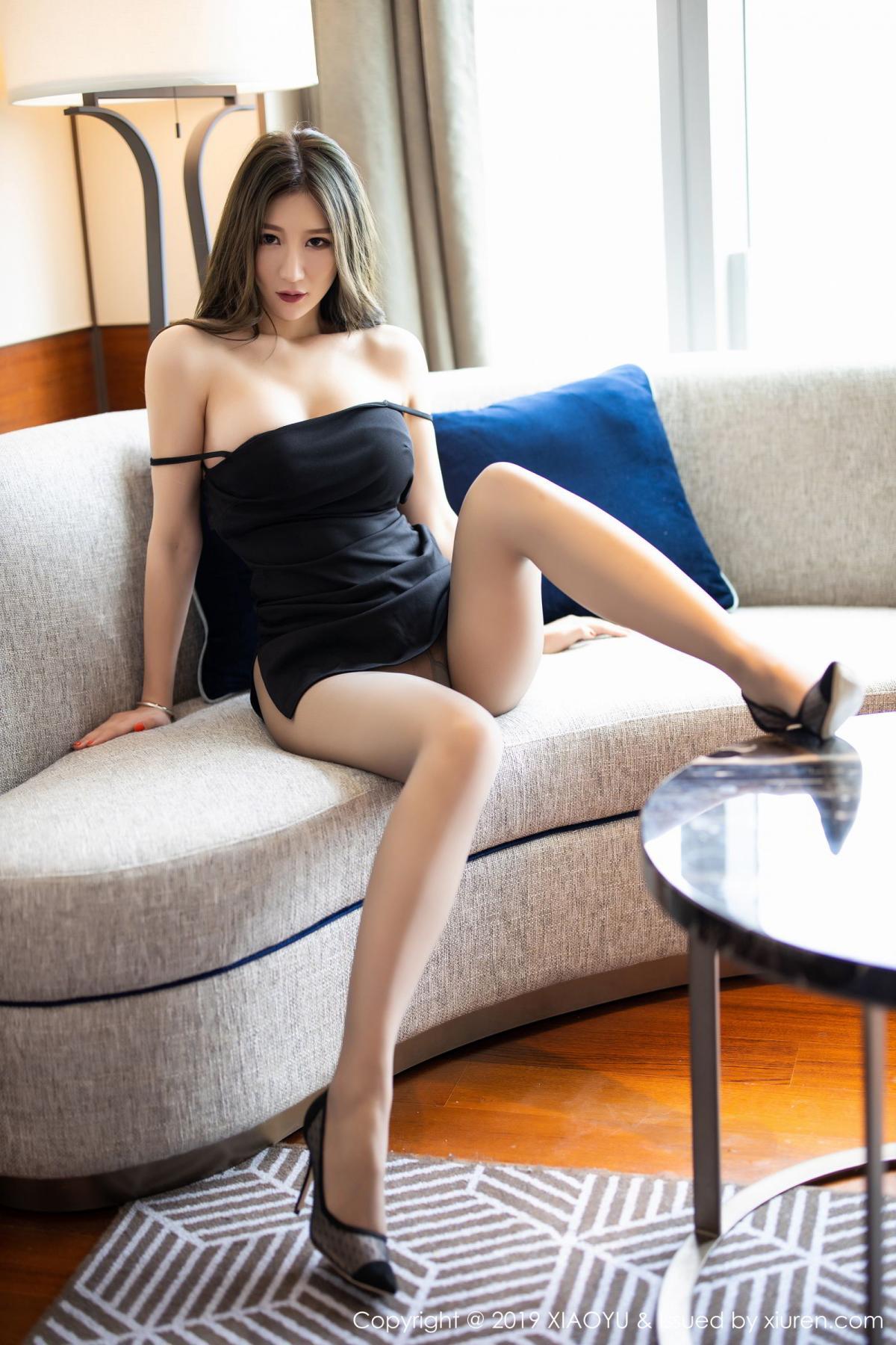 [XiaoYu] Vol.171 Xuan Zi 15P, Black Silk, Tall, XiaoYu, Xuan Zi