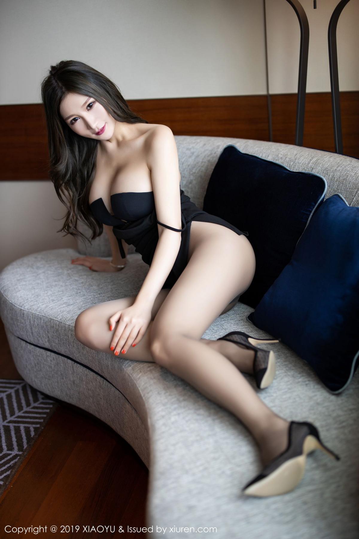 [XiaoYu] Vol.171 Xuan Zi 18P, Black Silk, Tall, XiaoYu, Xuan Zi