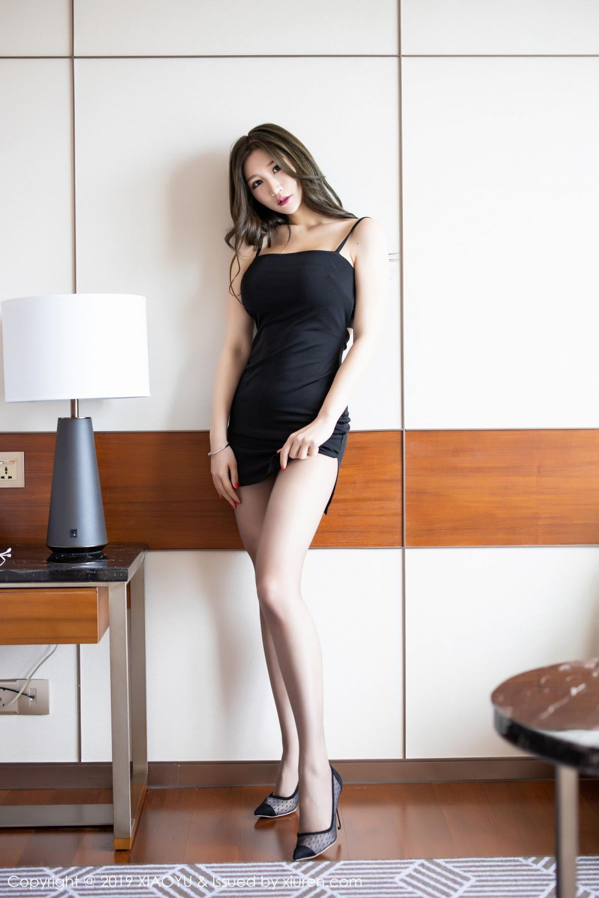 [XiaoYu] Vol.171 Xuan Zi 1P, Black Silk, Tall, XiaoYu, Xuan Zi