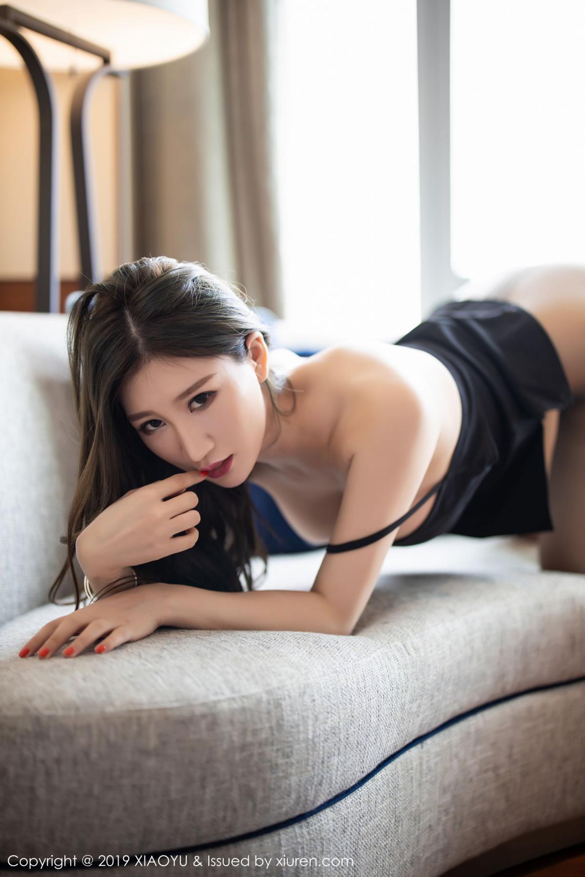 [XiaoYu] Vol.171 Xuan Zi 25P, Black Silk, Tall, XiaoYu, Xuan Zi