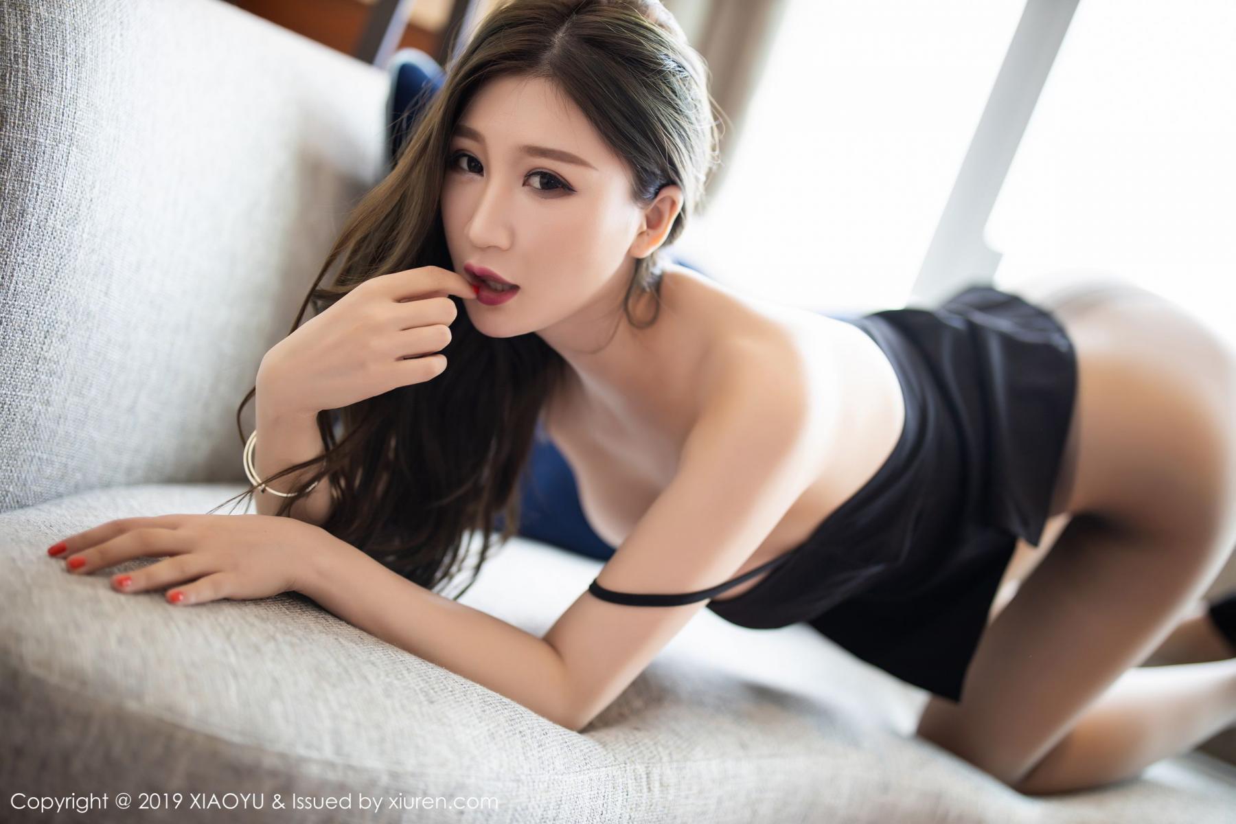 [XiaoYu] Vol.171 Xuan Zi 26P, Black Silk, Tall, XiaoYu, Xuan Zi