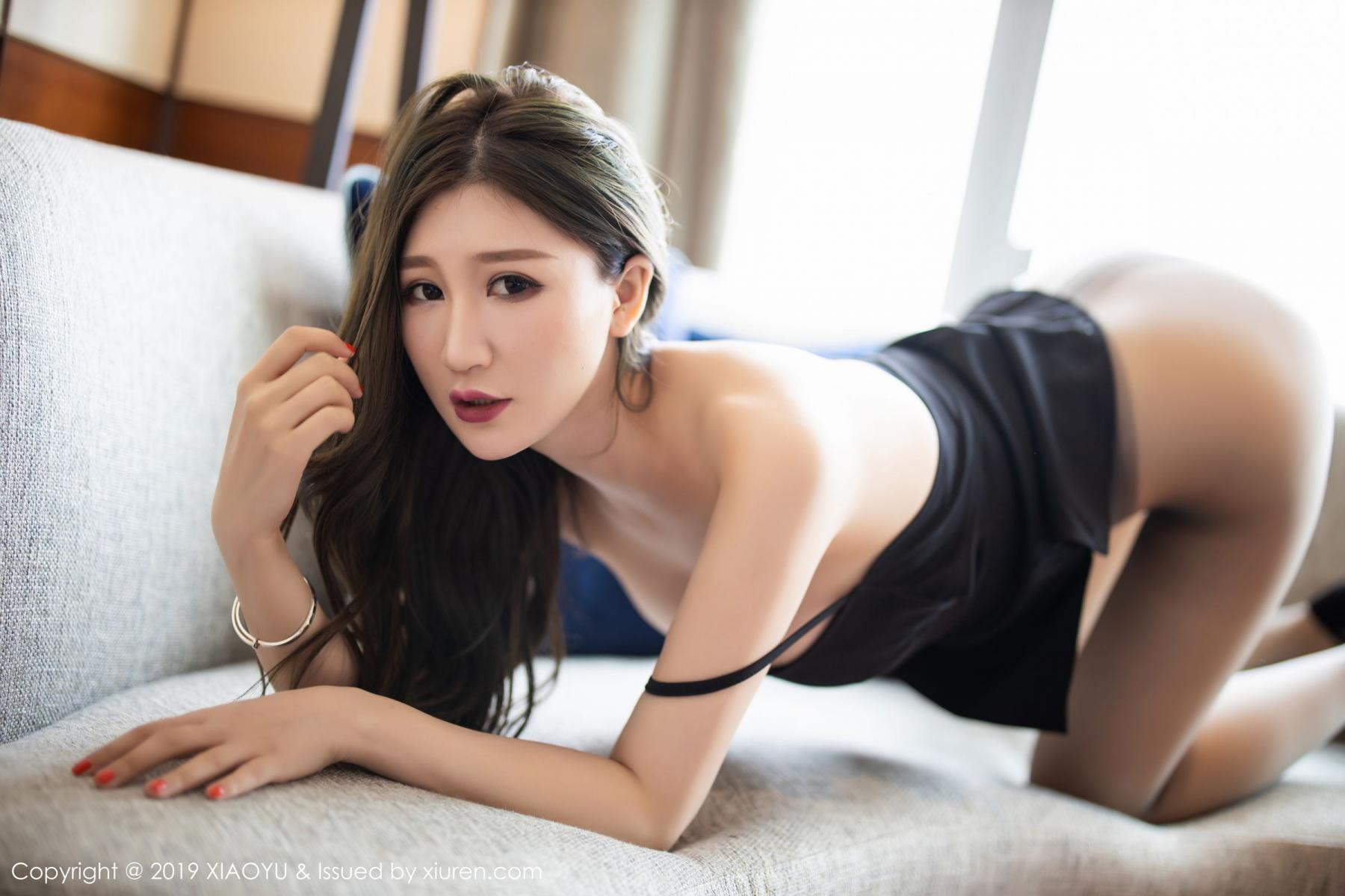 [XiaoYu] Vol.171 Xuan Zi 27P, Black Silk, Tall, XiaoYu, Xuan Zi