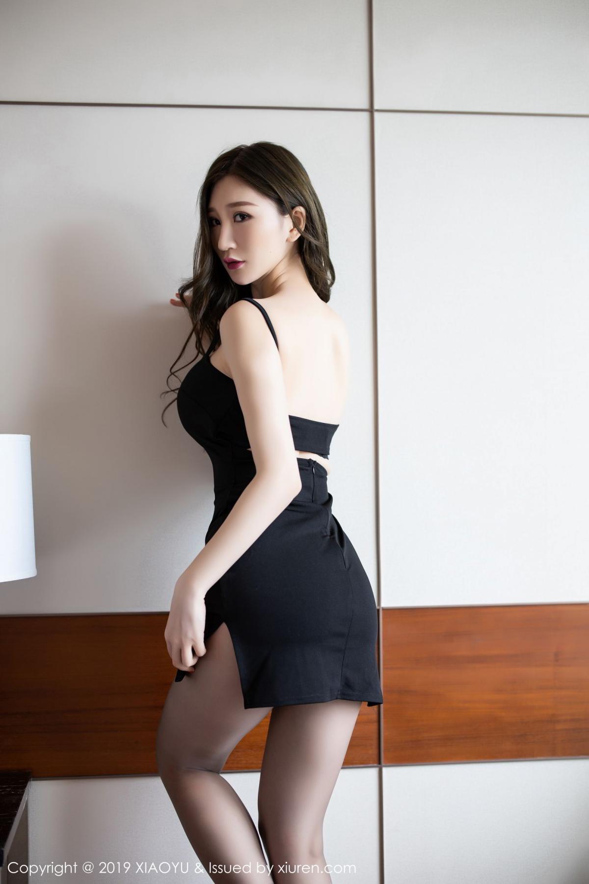 [XiaoYu] Vol.171 Xuan Zi 2P, Black Silk, Tall, XiaoYu, Xuan Zi