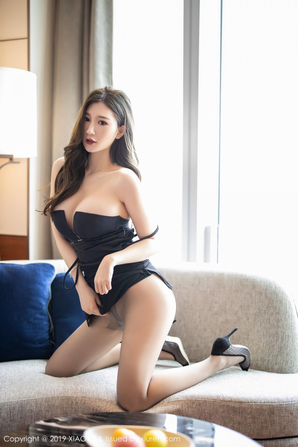 [XiaoYu] Vol.171 Xuan Zi 31P, Black Silk, Tall, XiaoYu, Xuan Zi