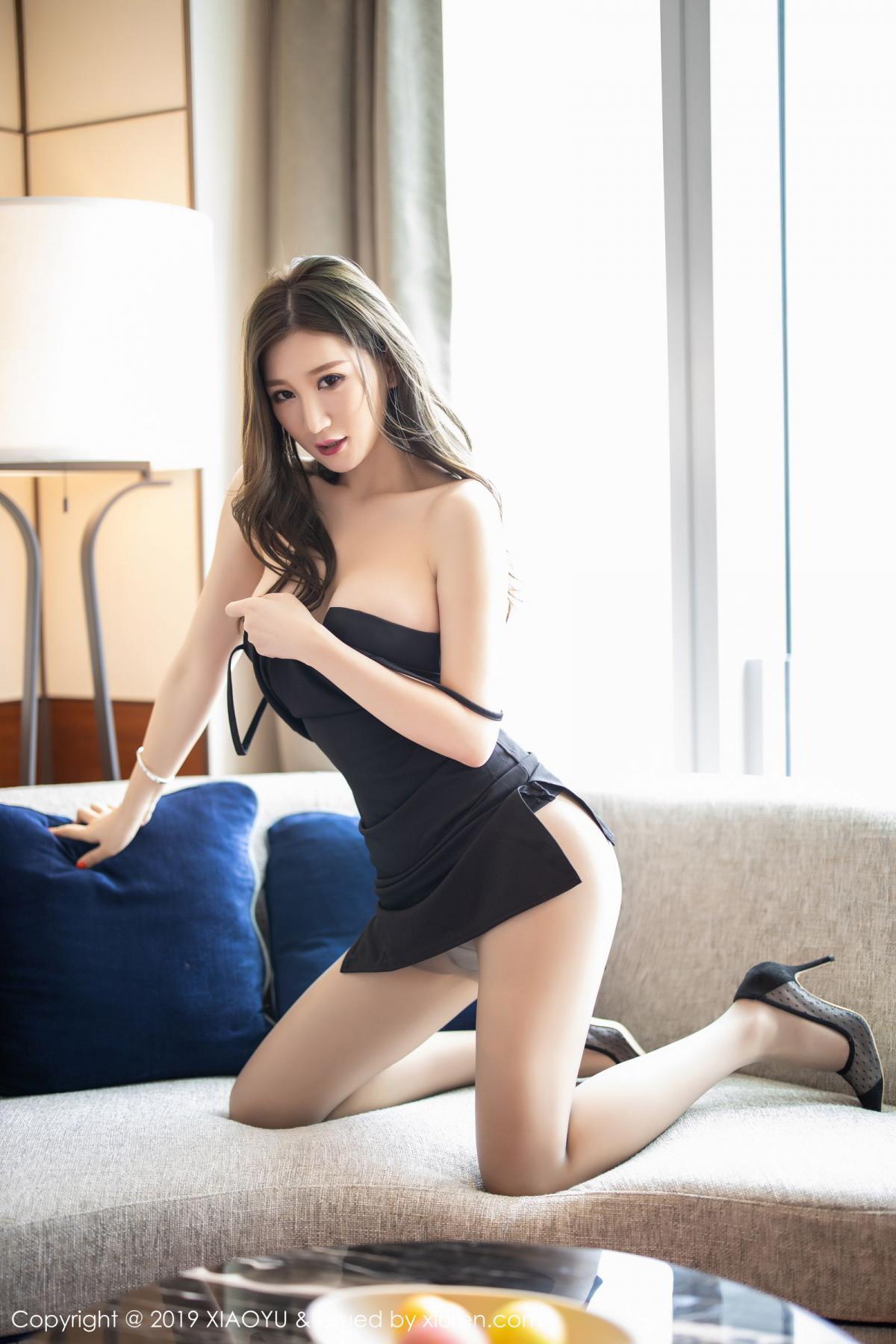 [XiaoYu] Vol.171 Xuan Zi 32P, Black Silk, Tall, XiaoYu, Xuan Zi