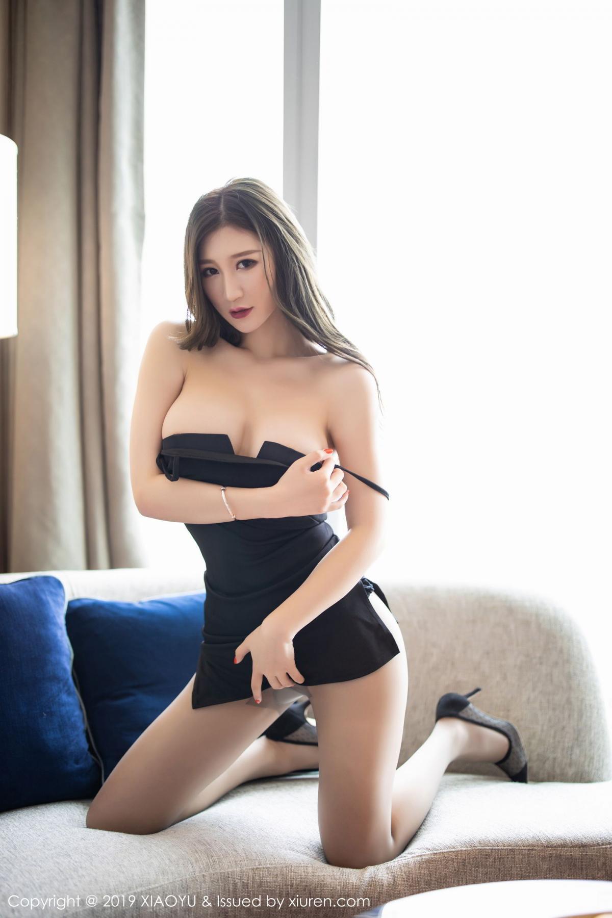 [XiaoYu] Vol.171 Xuan Zi 33P, Black Silk, Tall, XiaoYu, Xuan Zi